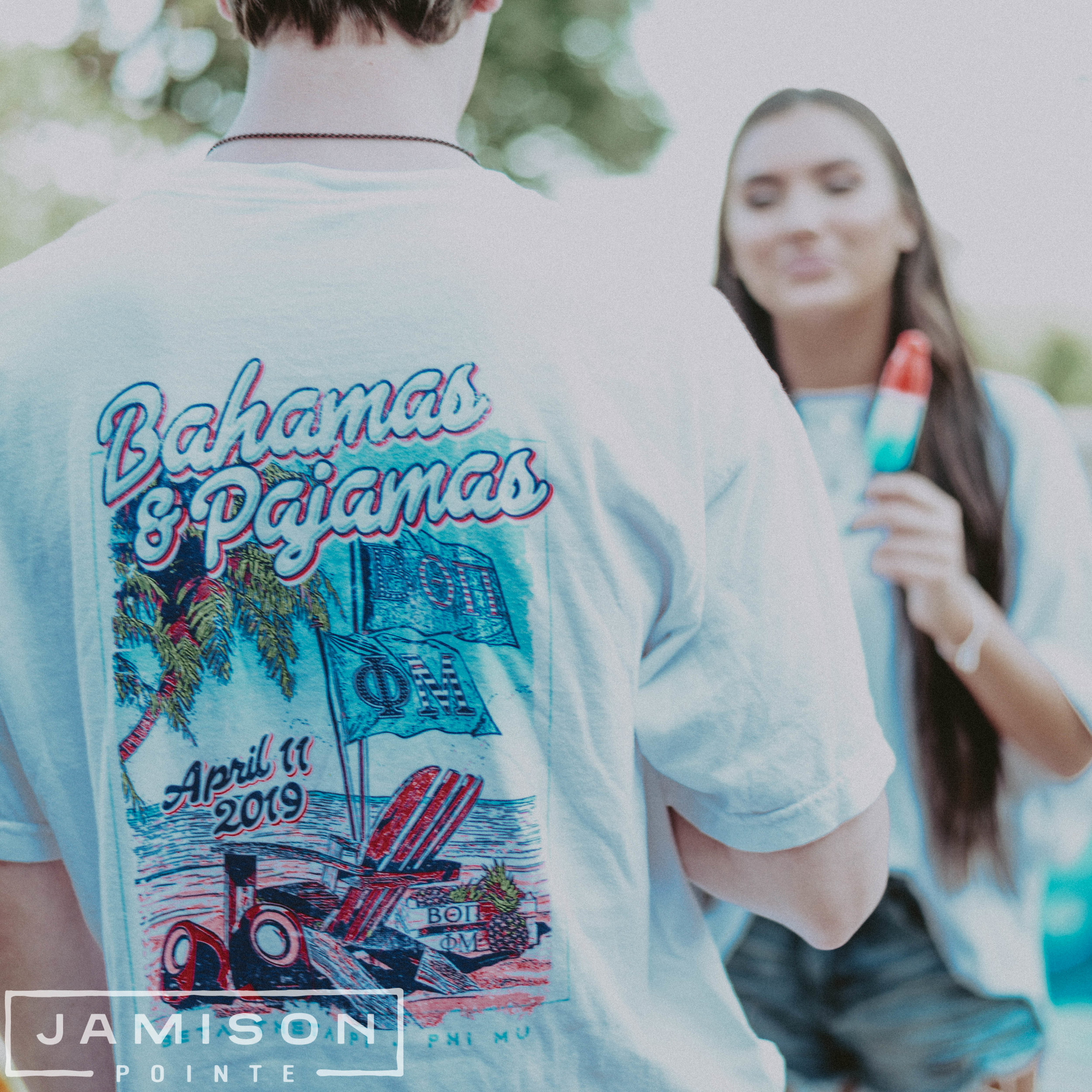 Beta Theta Pi Bahamas and Pajamas Tee