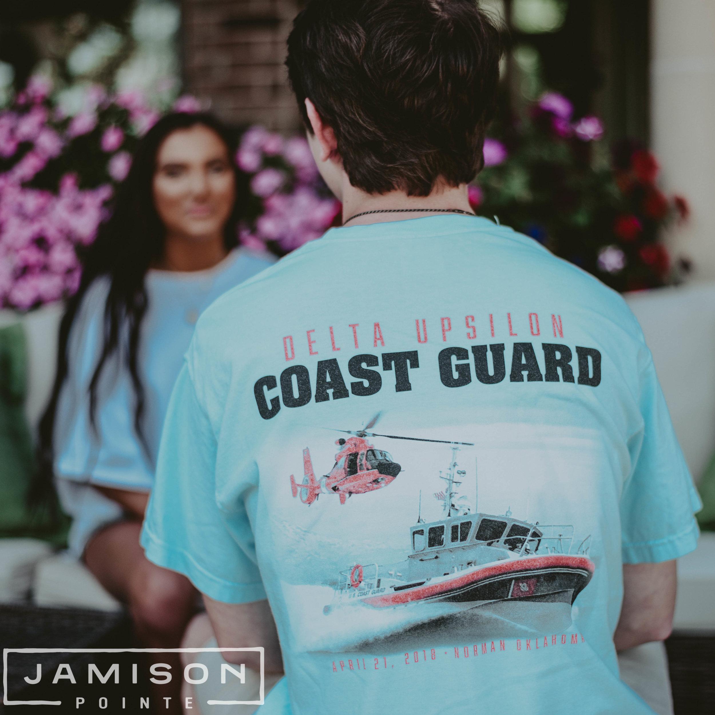 Delta Upsilon Coast Guard Tshirt