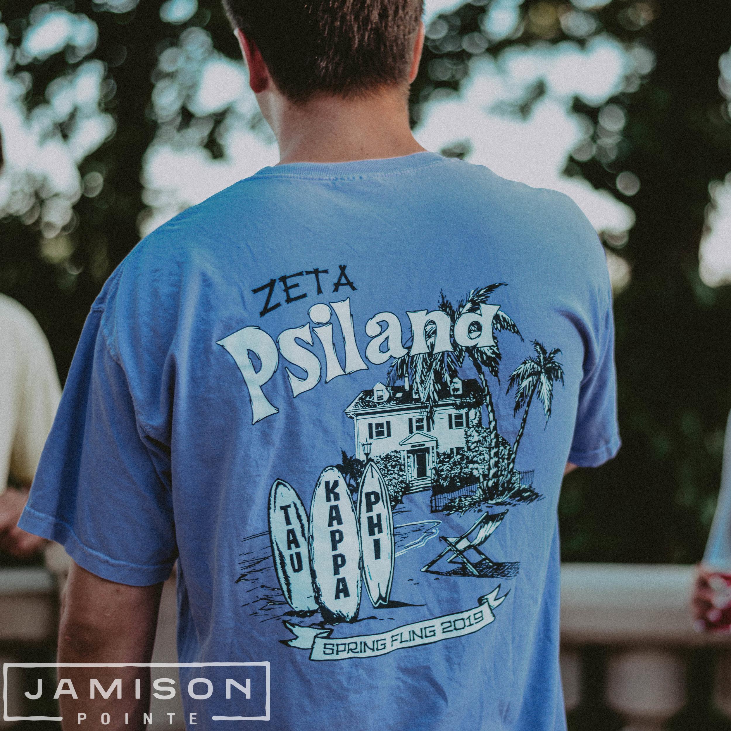 Zeta Psiland Tshirt