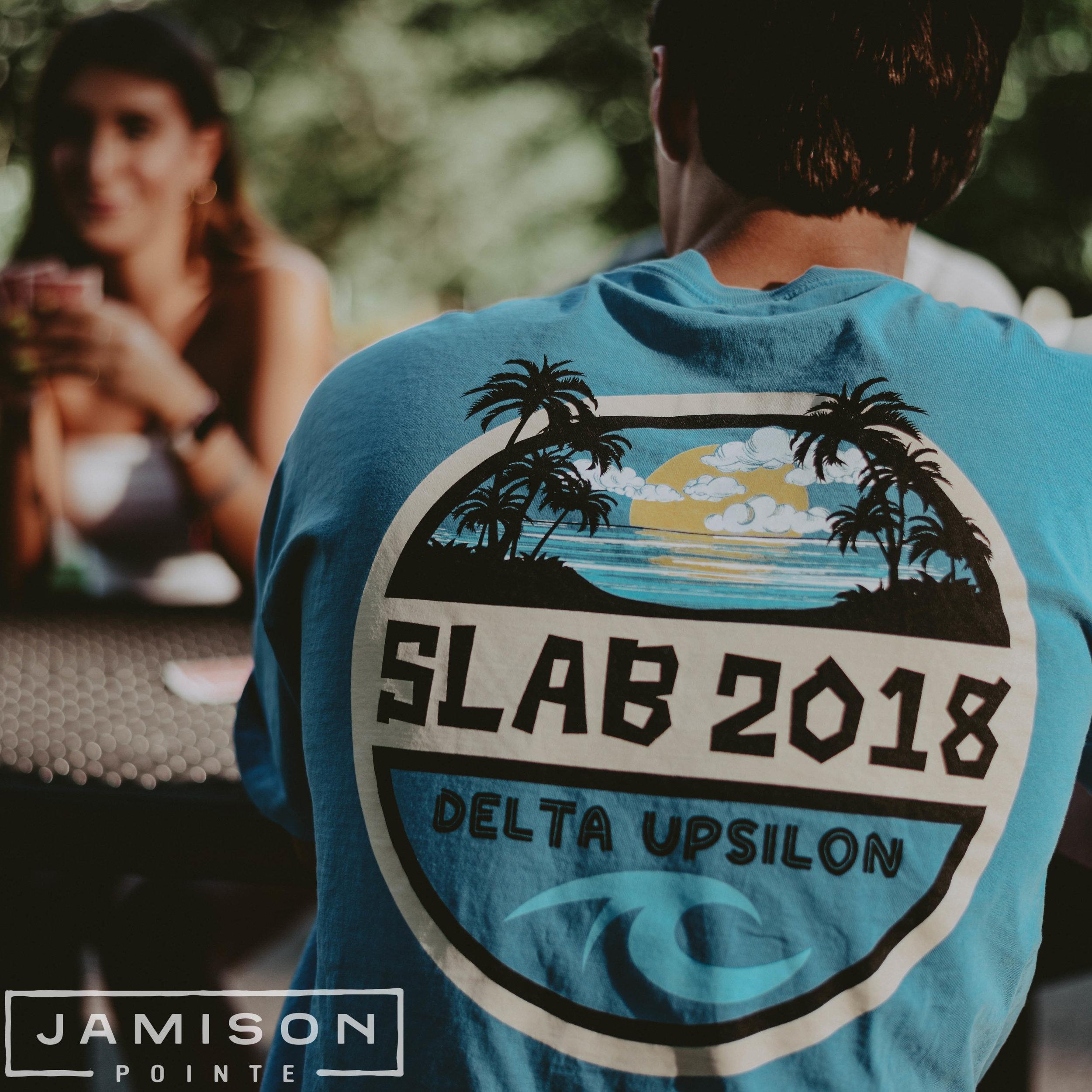 Delta Upsilon Slab Tshirt
