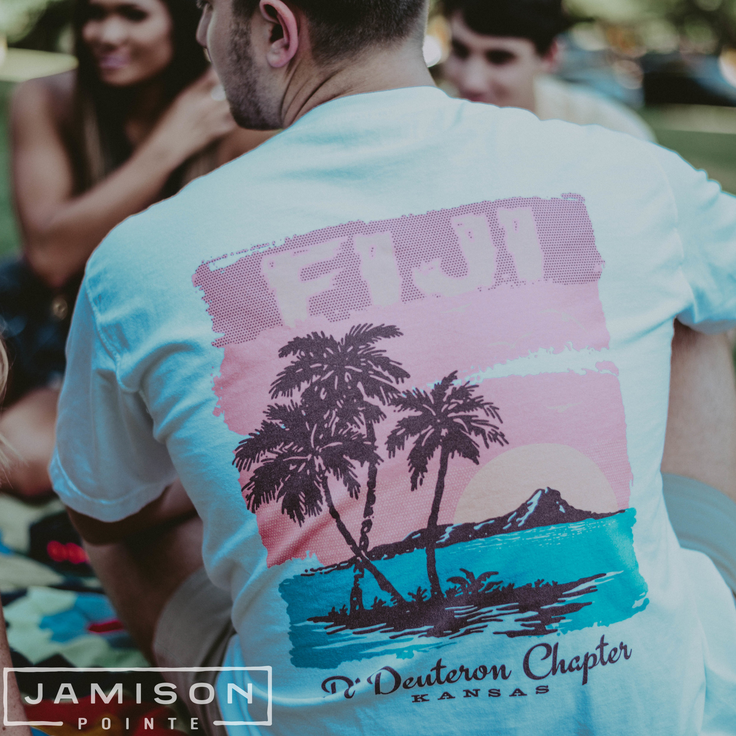 Phi Gamma Delta Beach PR Tshirt
