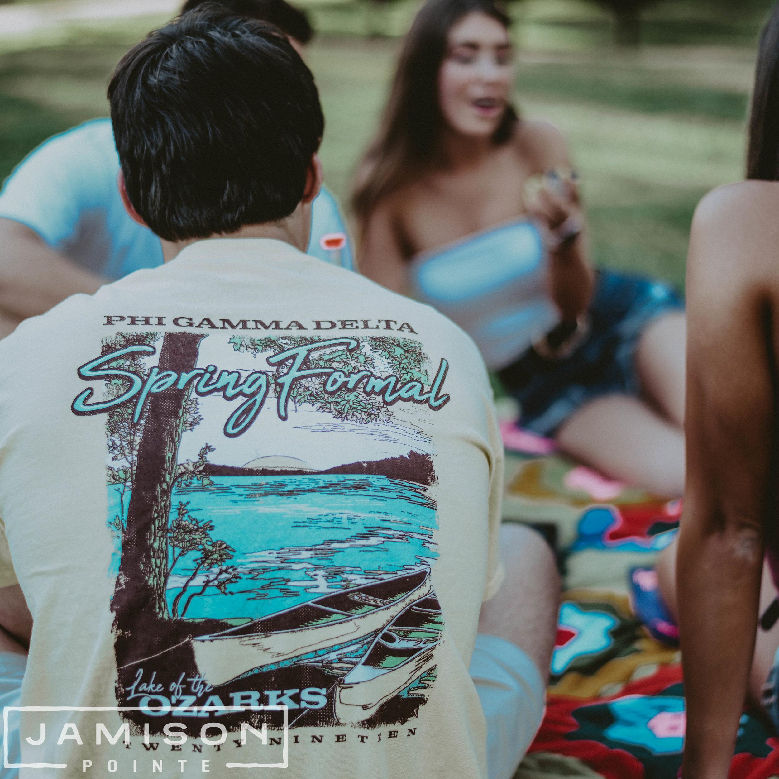 Phi Gamma Delta Spring Formal Shirt