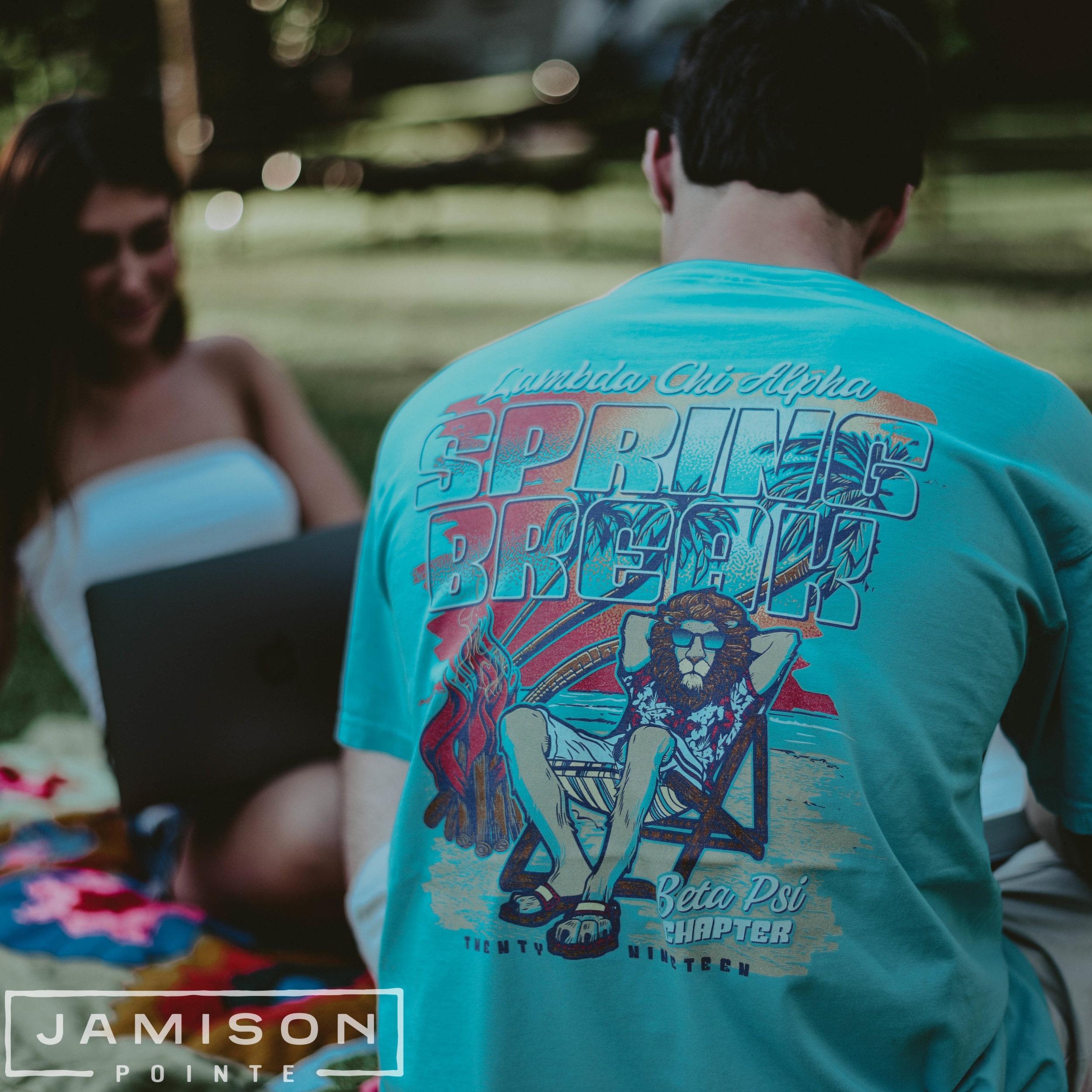 Lambda Chi Spring Break T-shirt