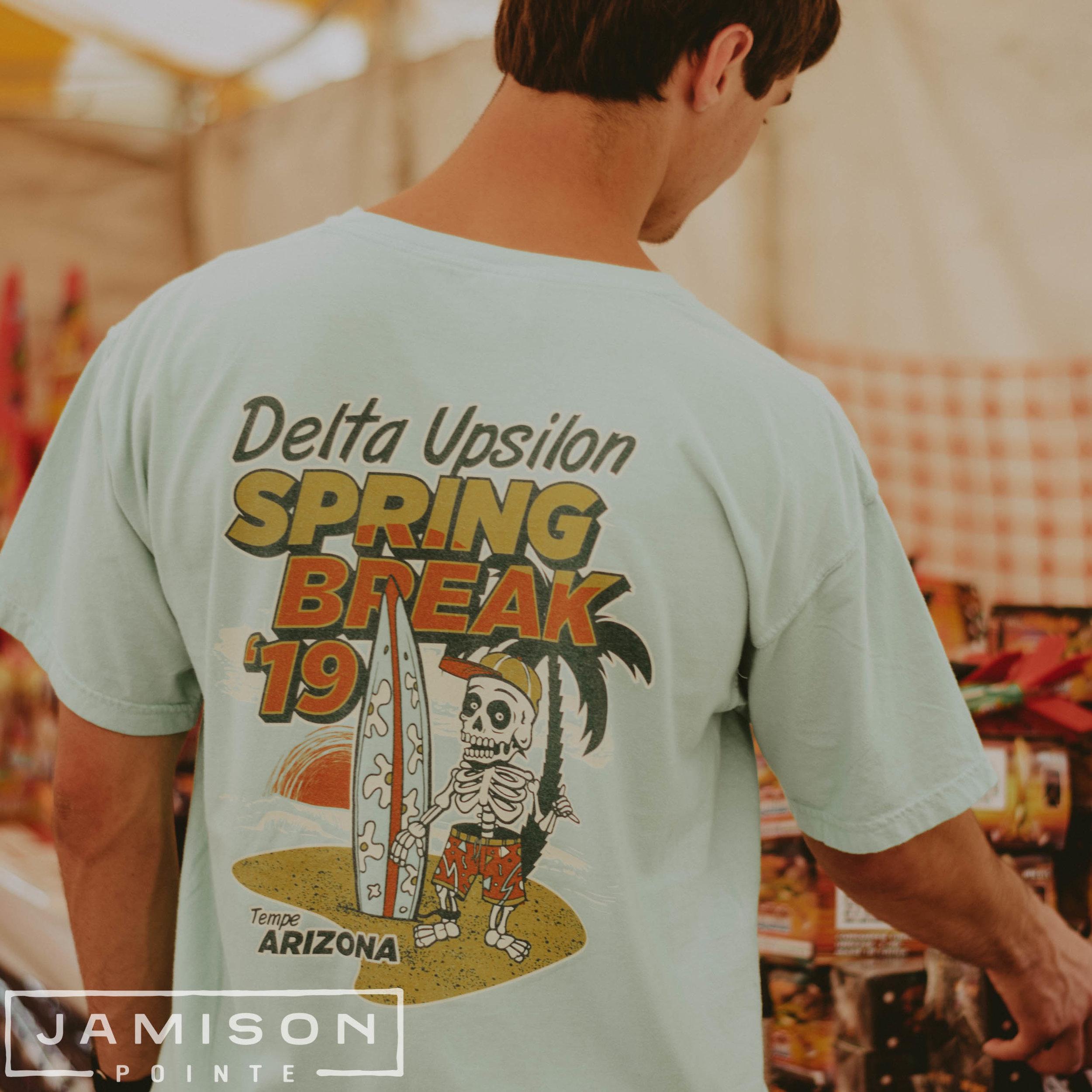 Delta Upsilon Spring Break Tee