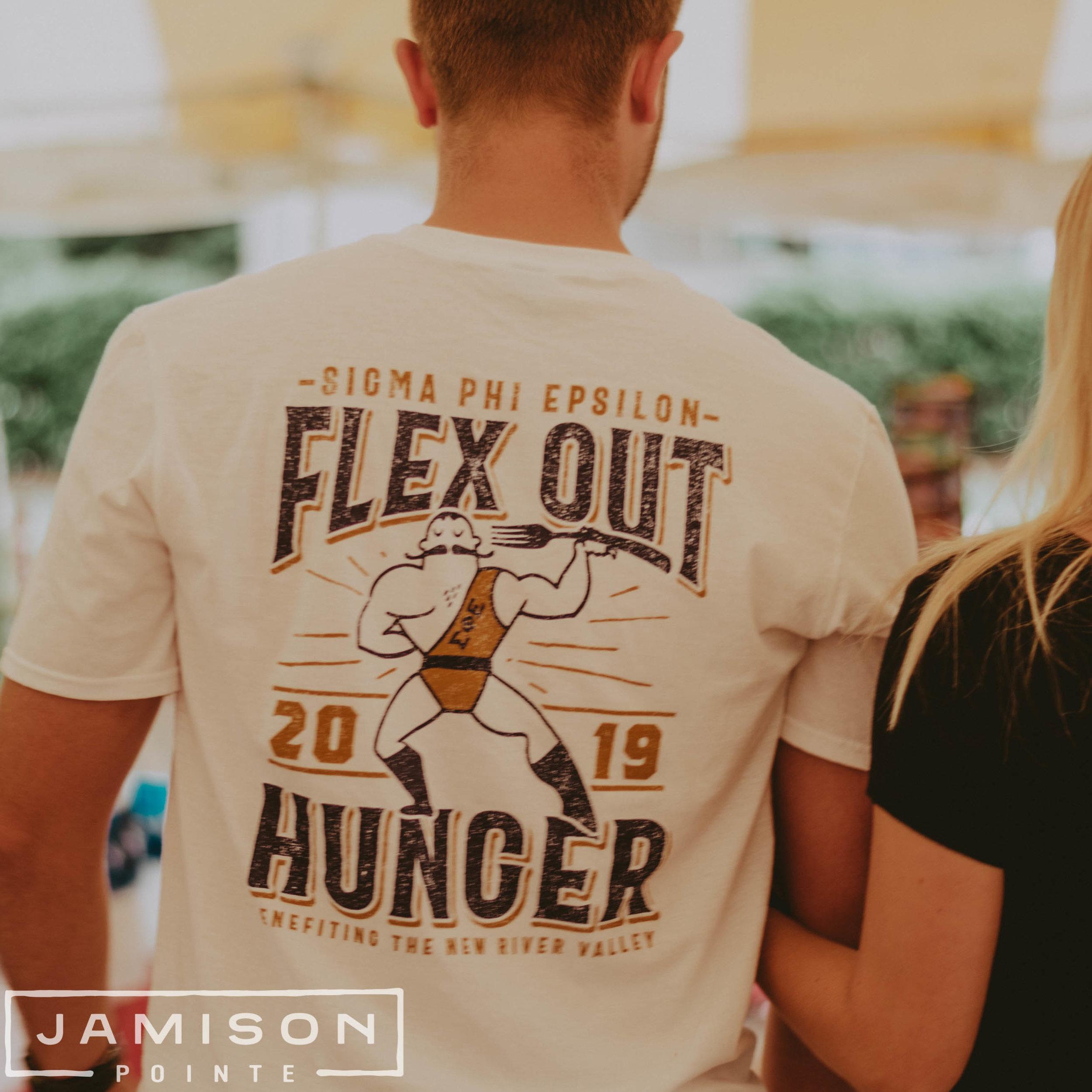 Sig Ep Flex Out Hunger T-shirt
