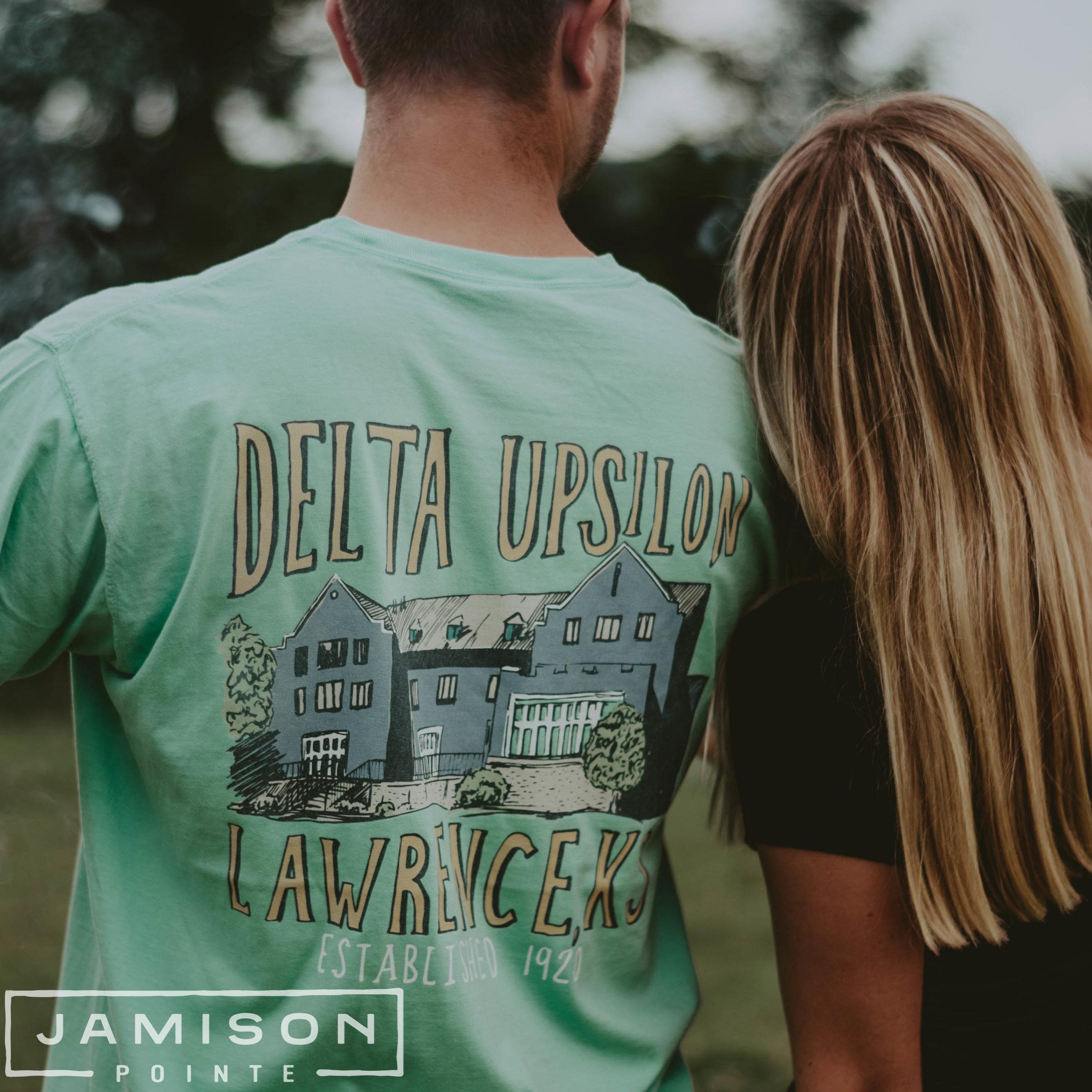 Delta Upsilon House PR Tee