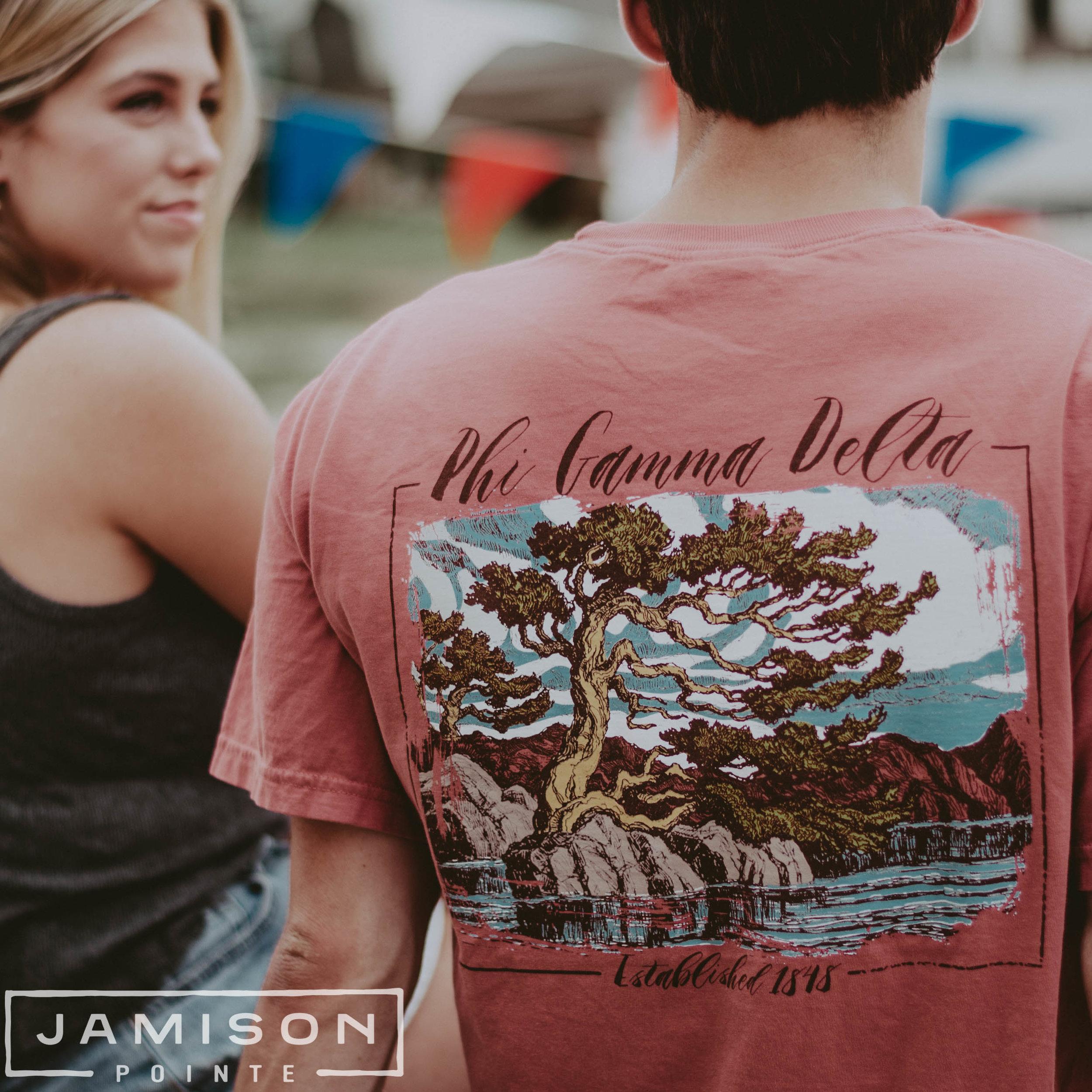 Phi Gamma Delta Landscape Tee
