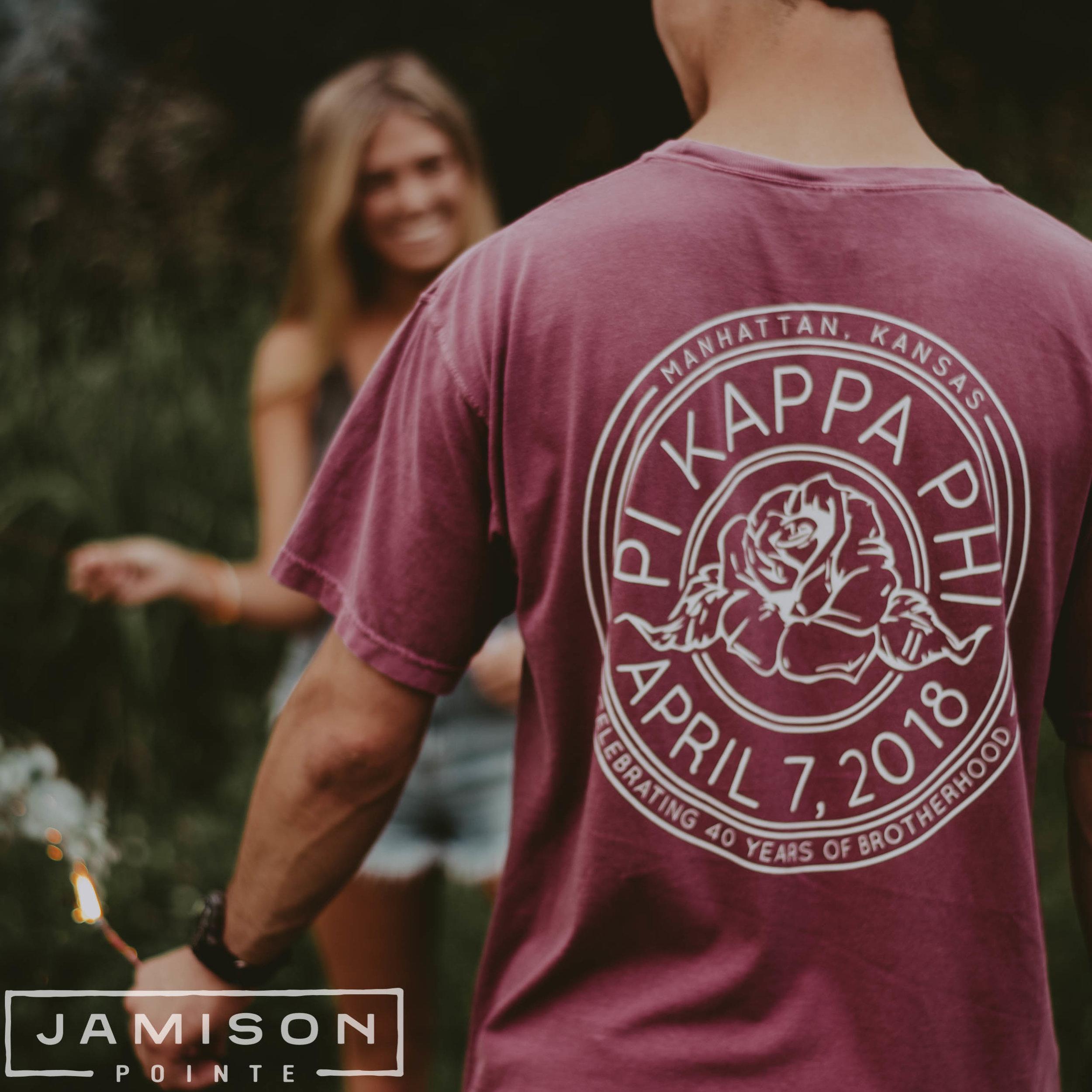 Pi Kappa Phi Rose PR Tee
