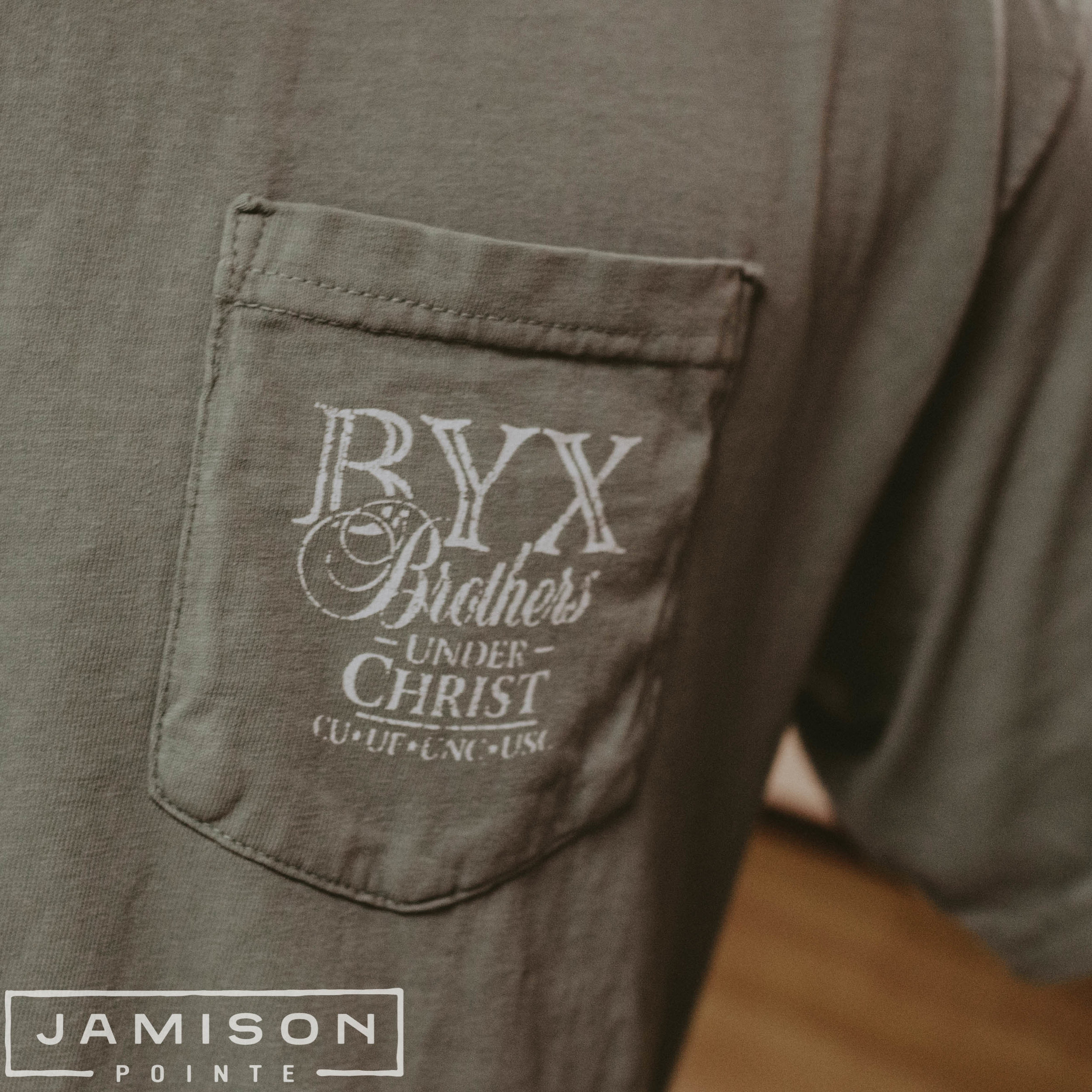 Beta Upsilon Chi BYX in a Tux Tee