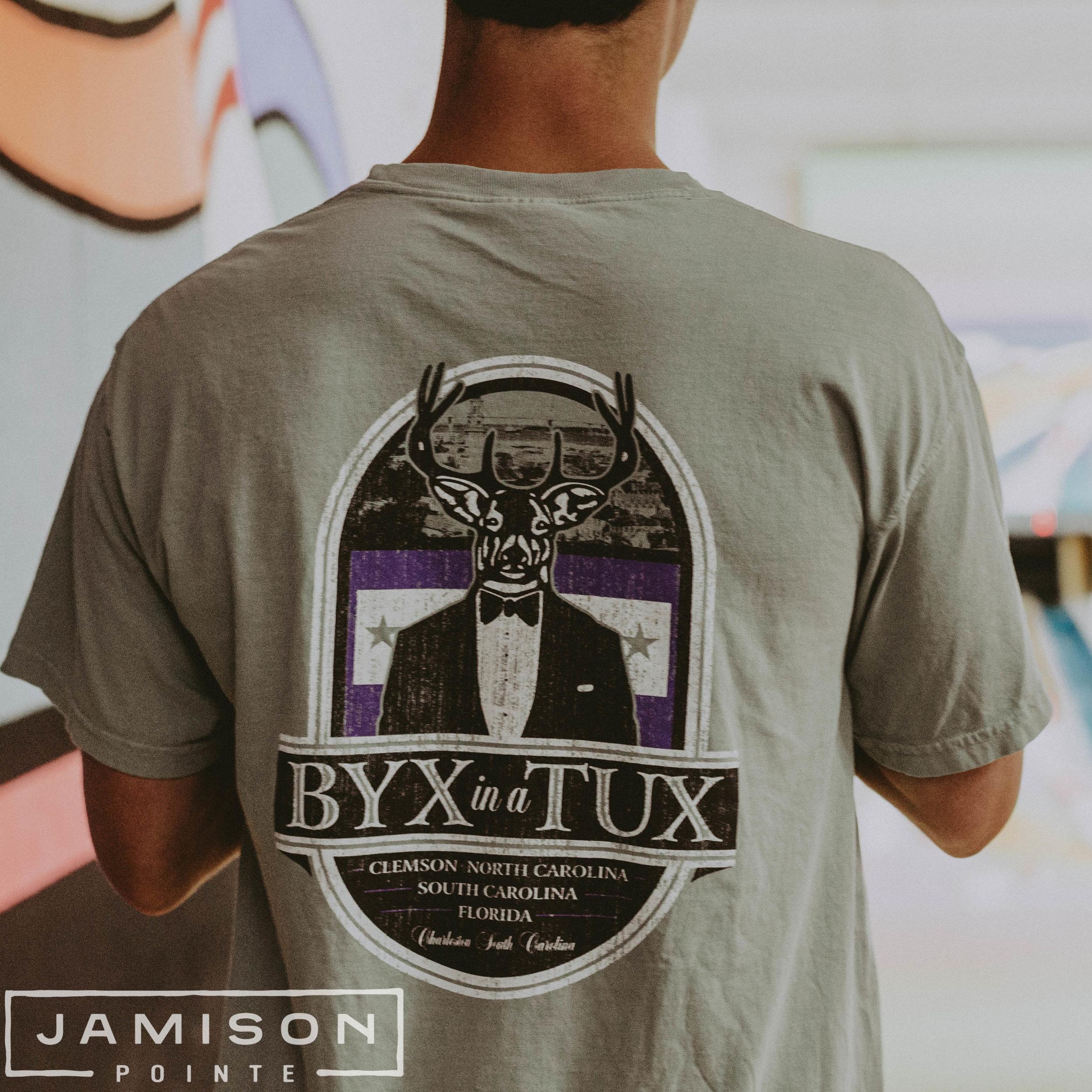 BYX in a Tux Tee
