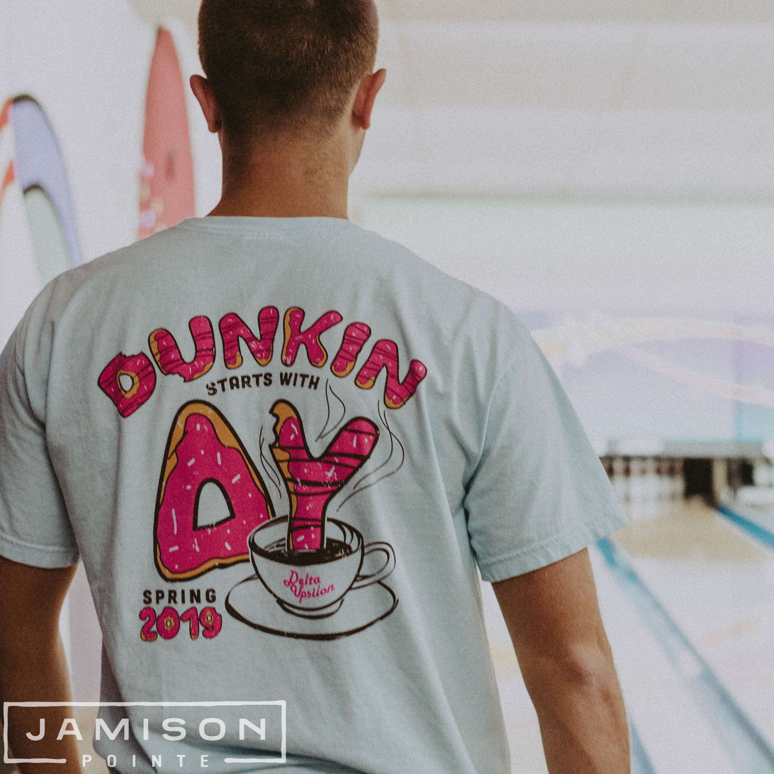 Delta Upsilon Dunkin T-shirt