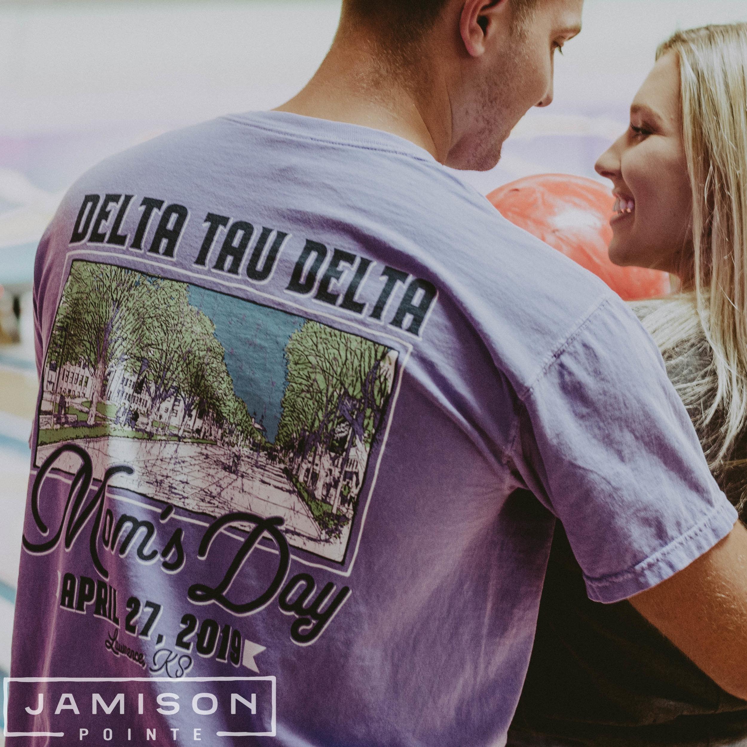 Delta Tau Delta Moms Day Tshirt