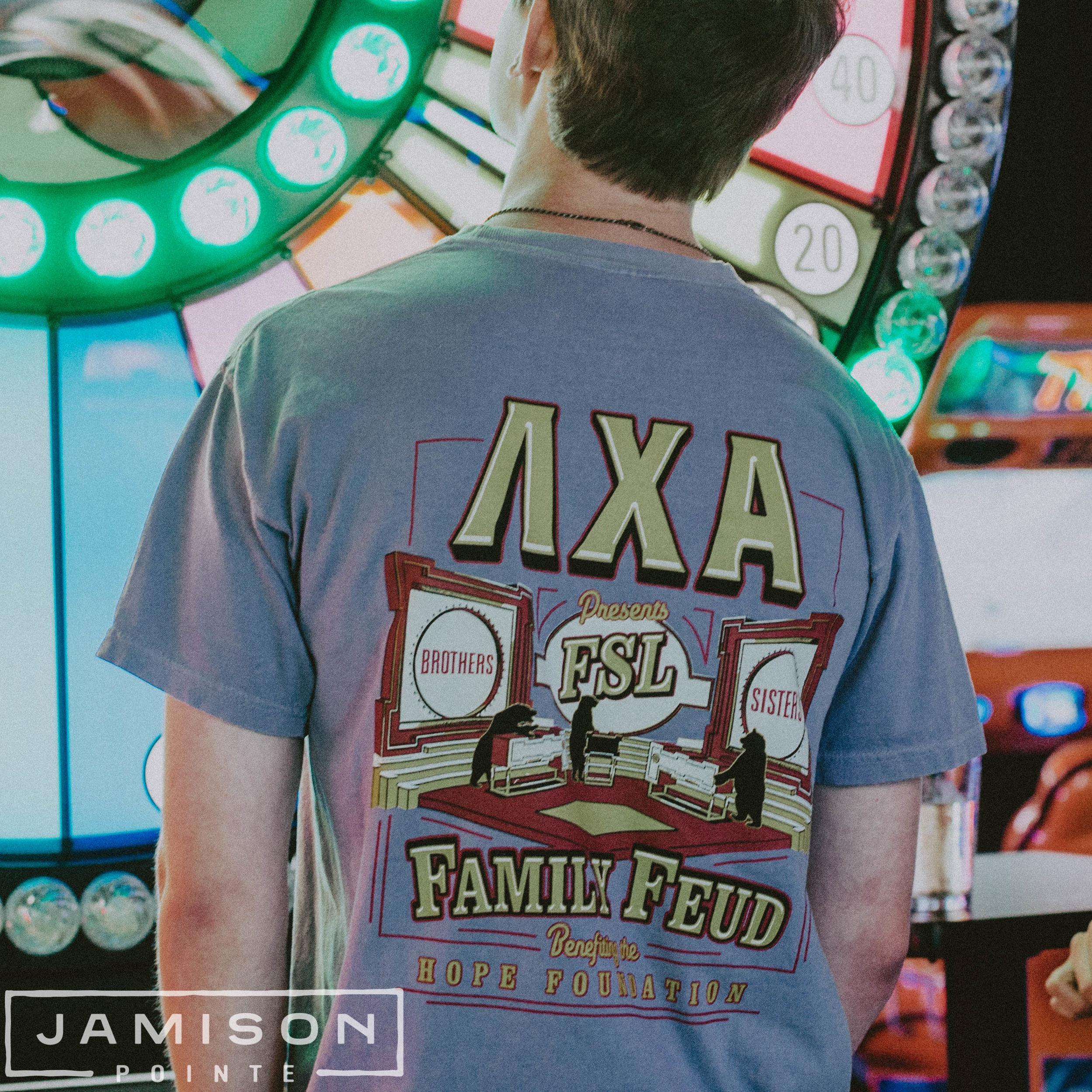 Lambda Chi Family Feud Tshirt