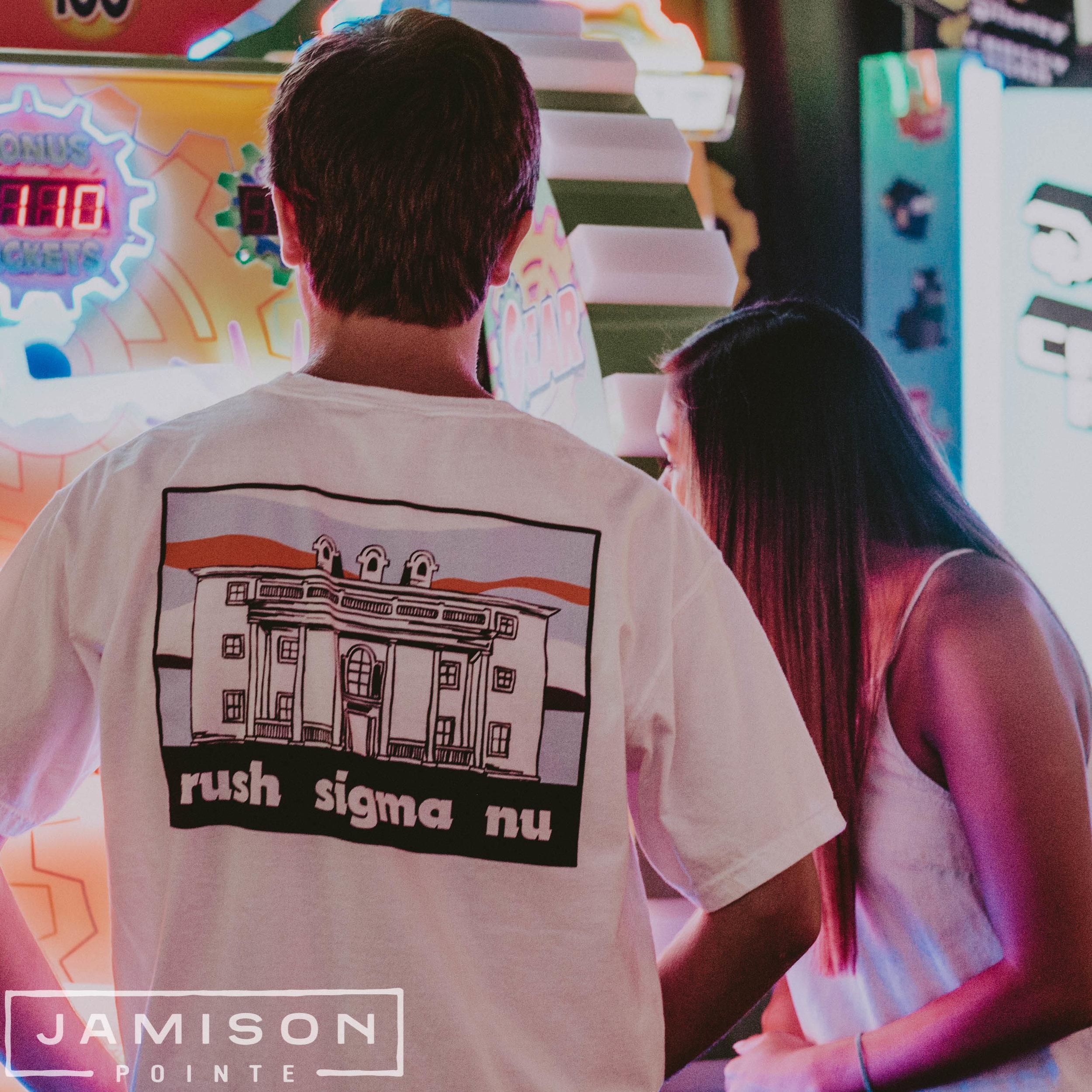 Sigma Nu Rush T-shirt