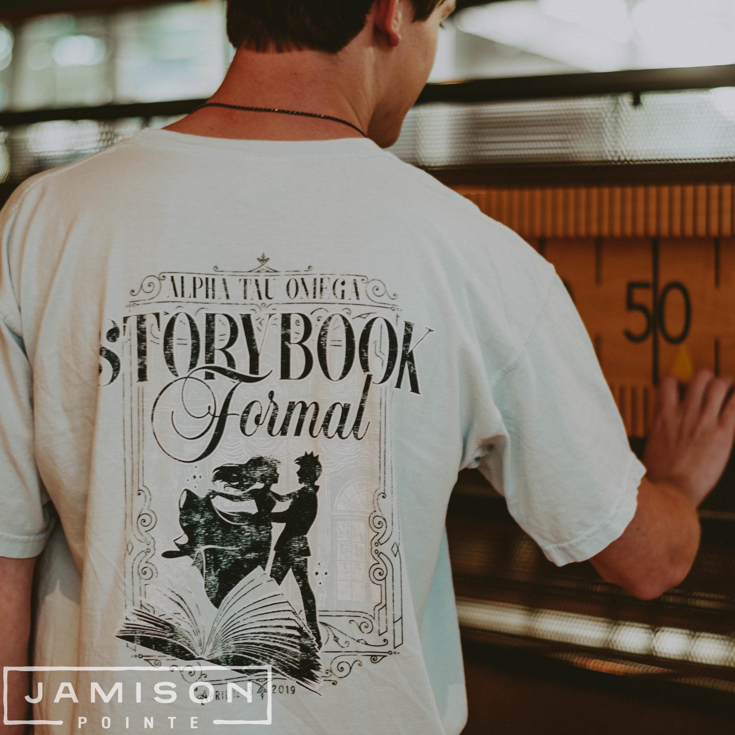 Alpha Tau Omega Storybook Formal Tshirt