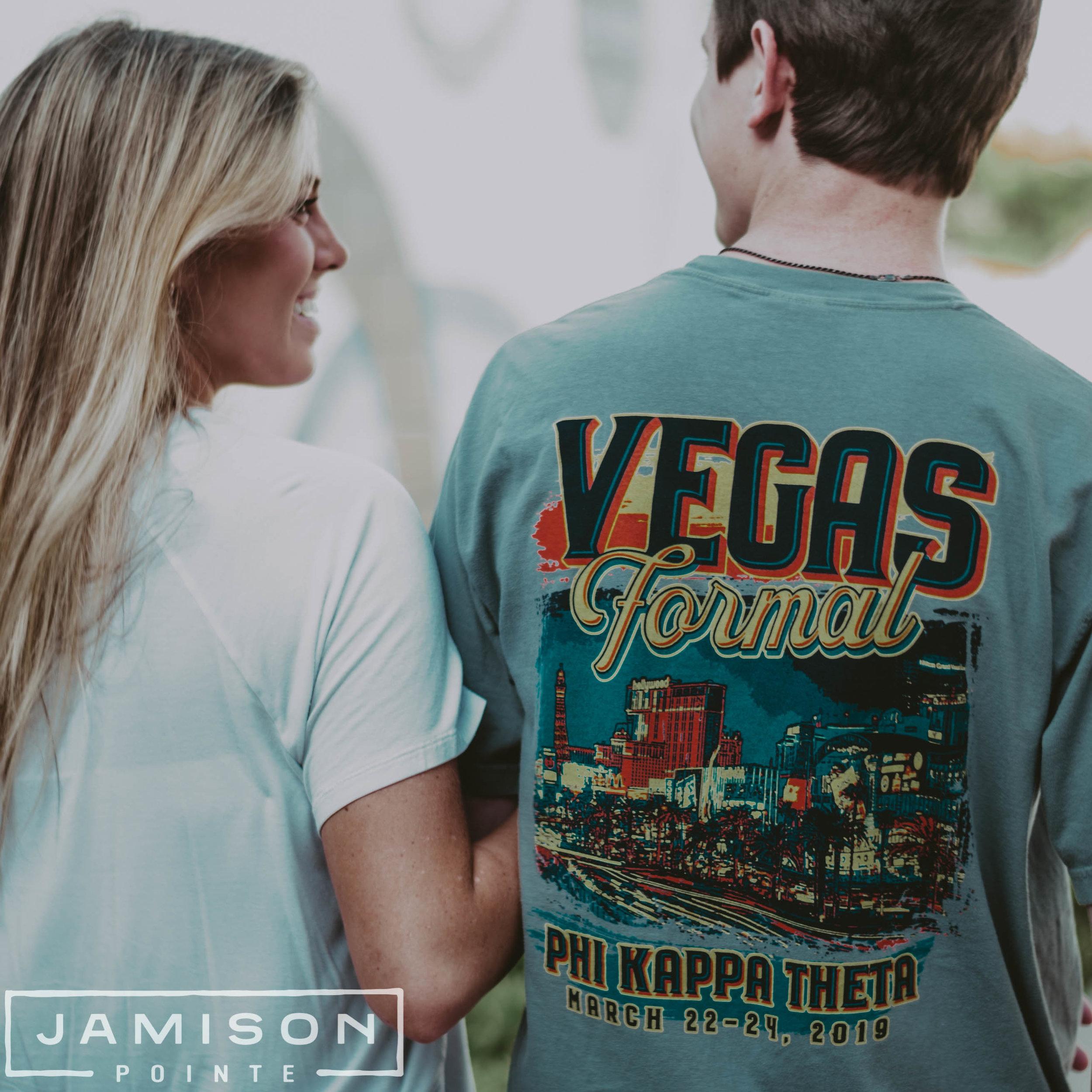 Phi Kappa Theta Vegas Formal Tshirt