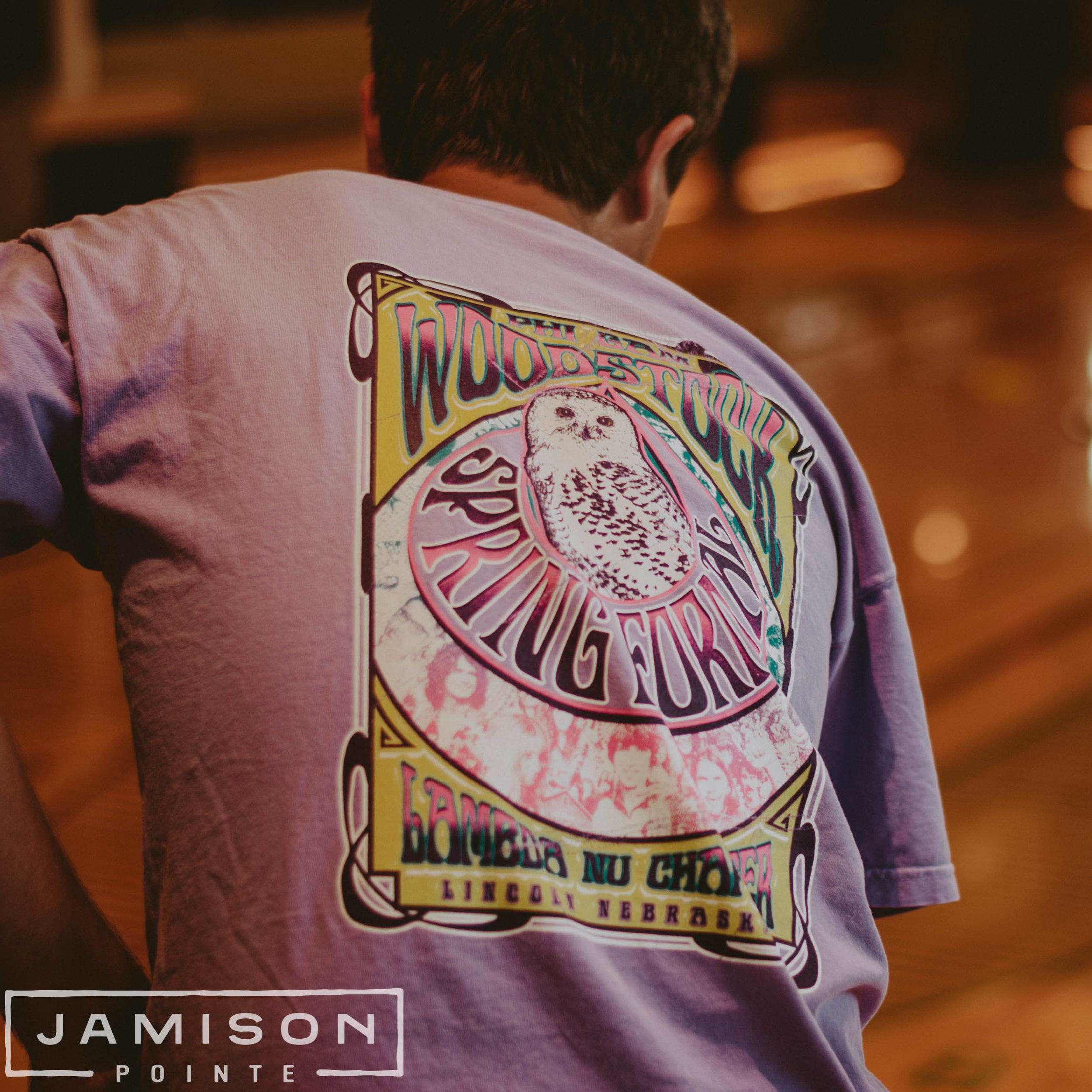 Phi Gam Woodstock Tshirt
