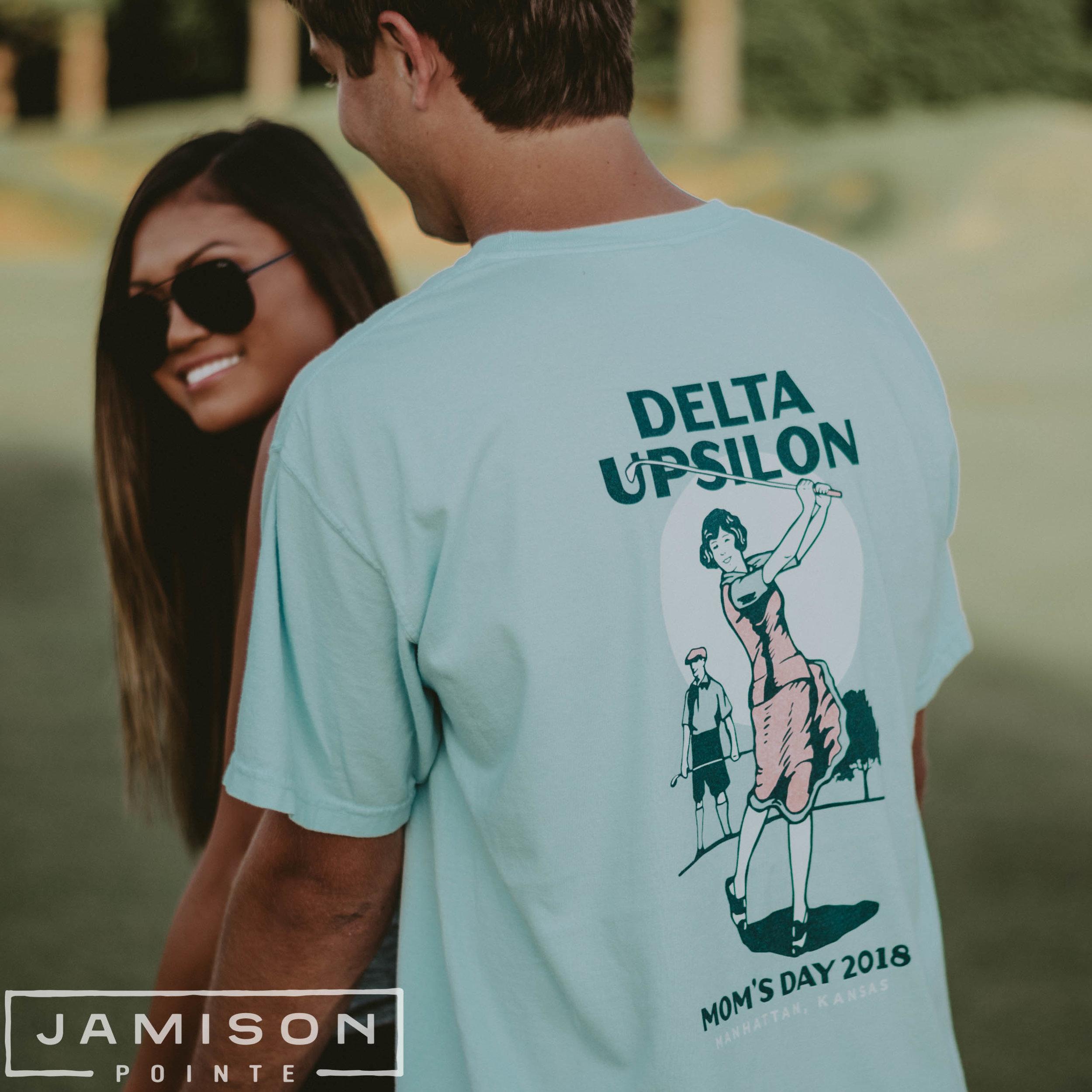 Delta Upsilon Moms Day Tee