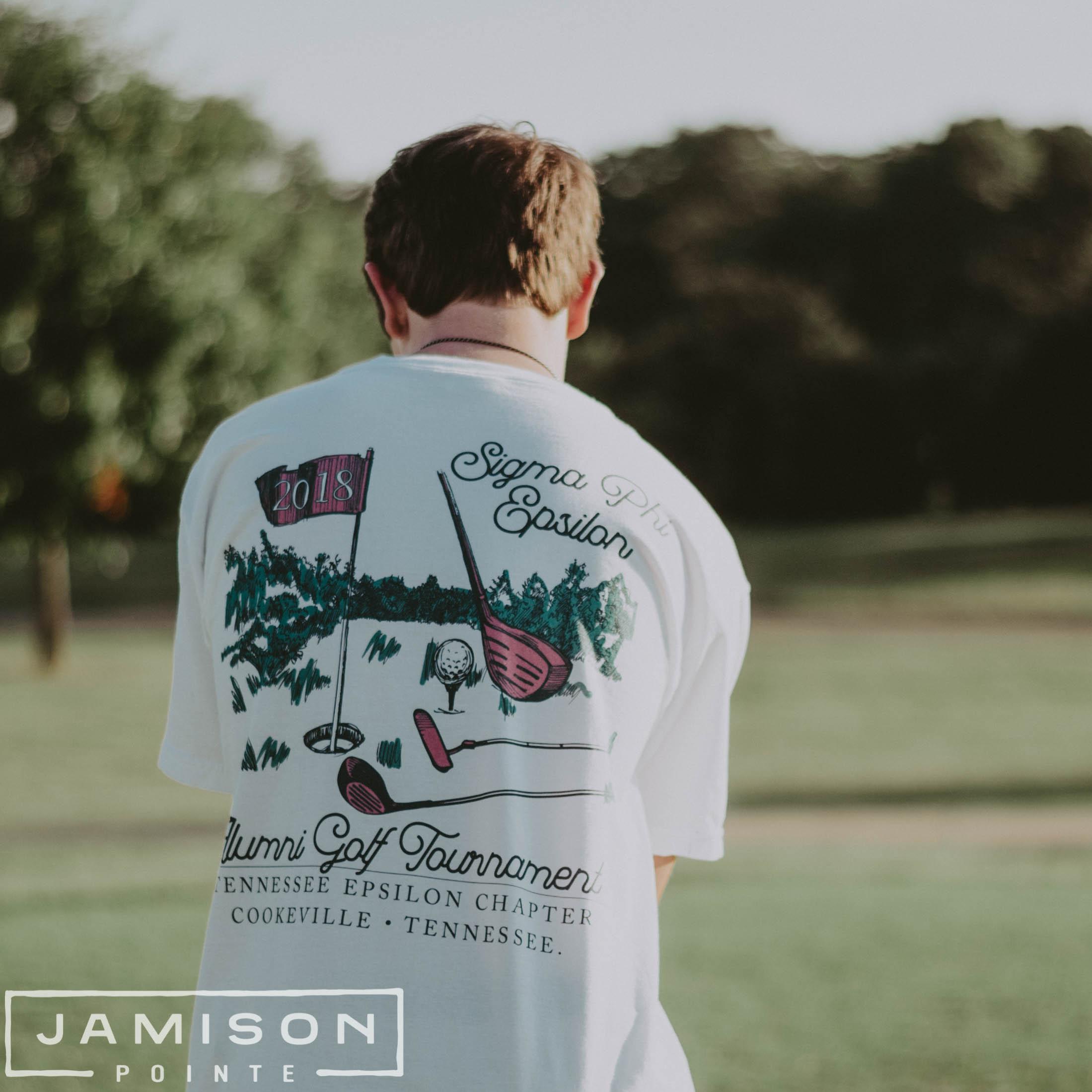 Sigma Phi Epsilon Golf Tournament Tshirt
