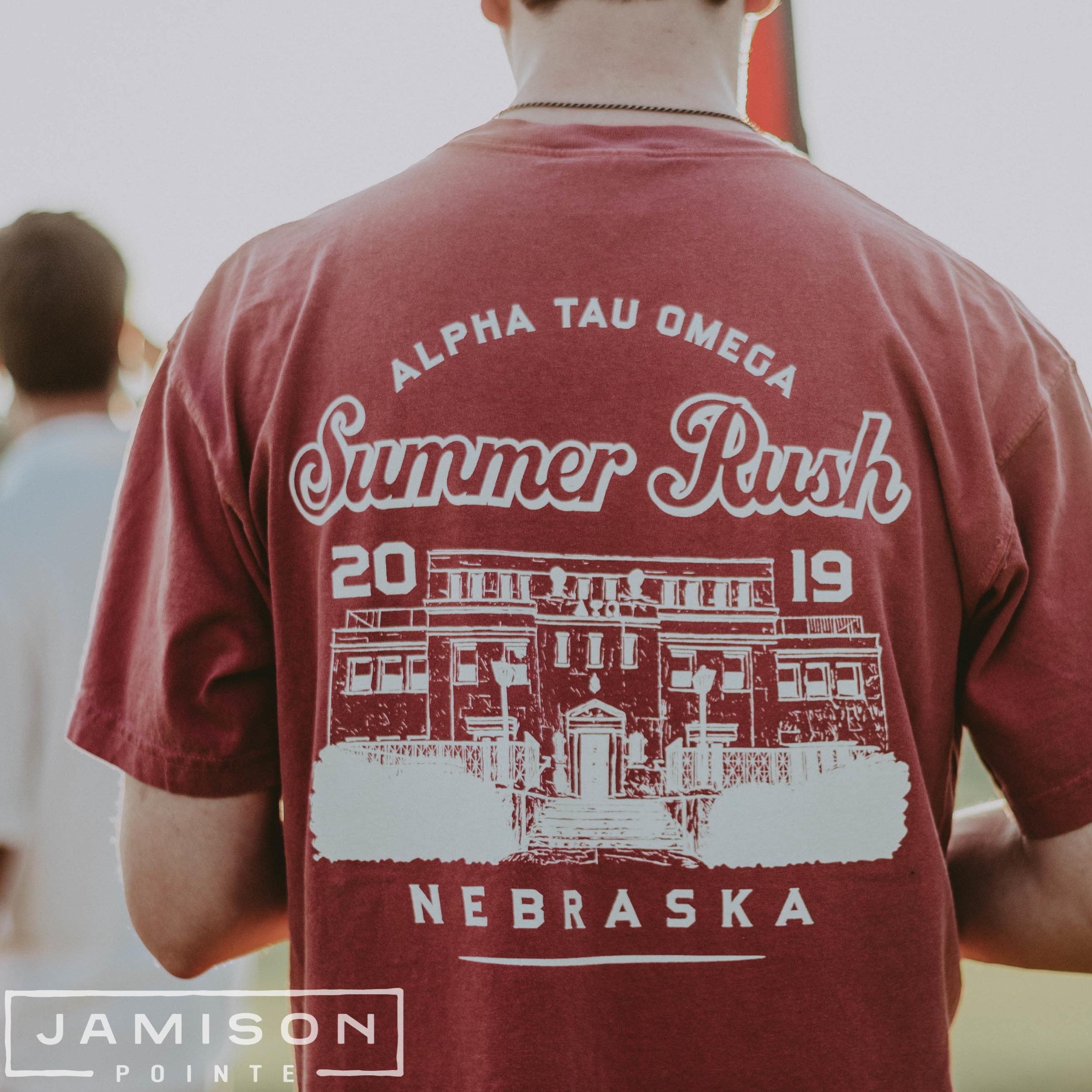 Alpha Tau Omega Summer Rush TShirt
