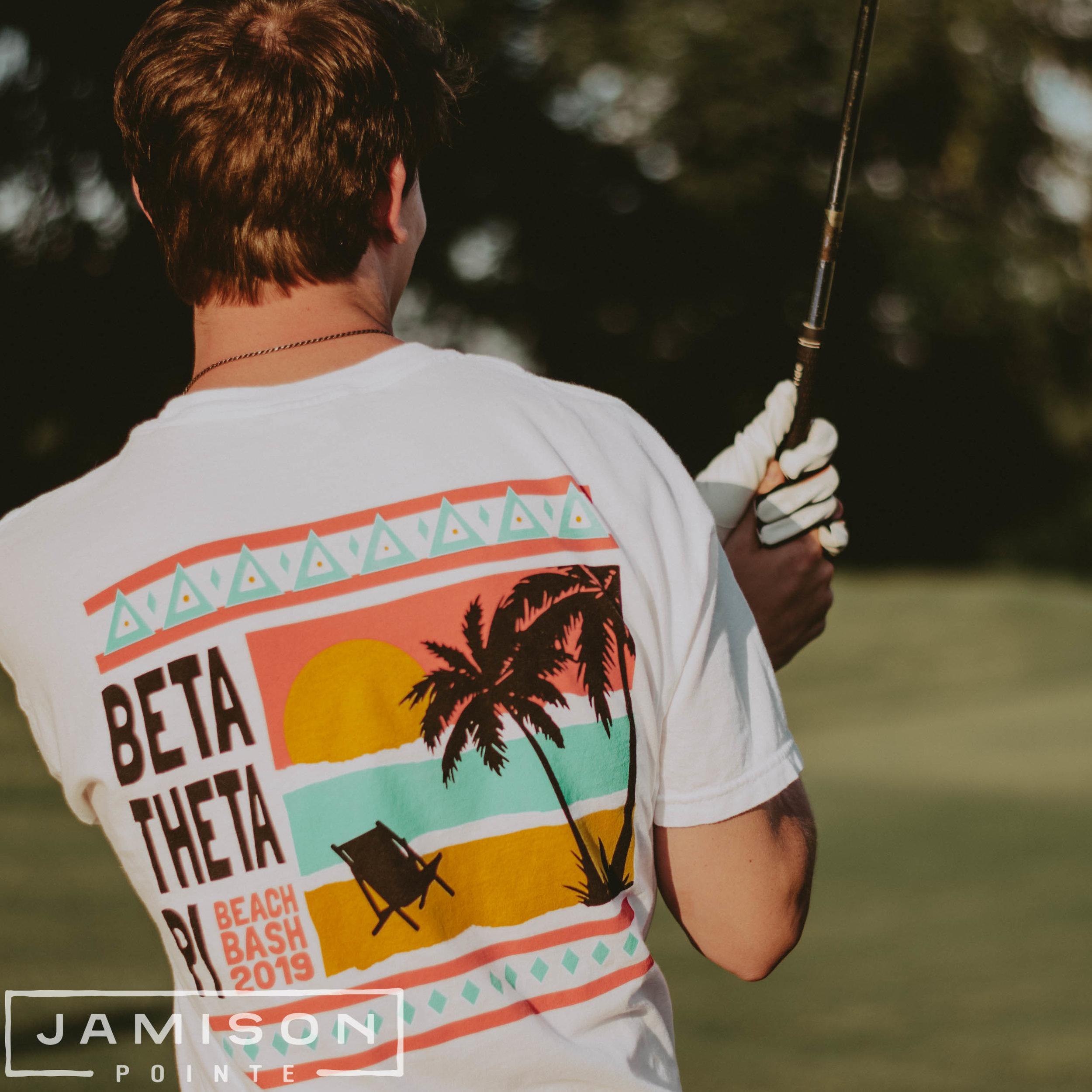 Beta Theta Pi Beach Bash Tshirt