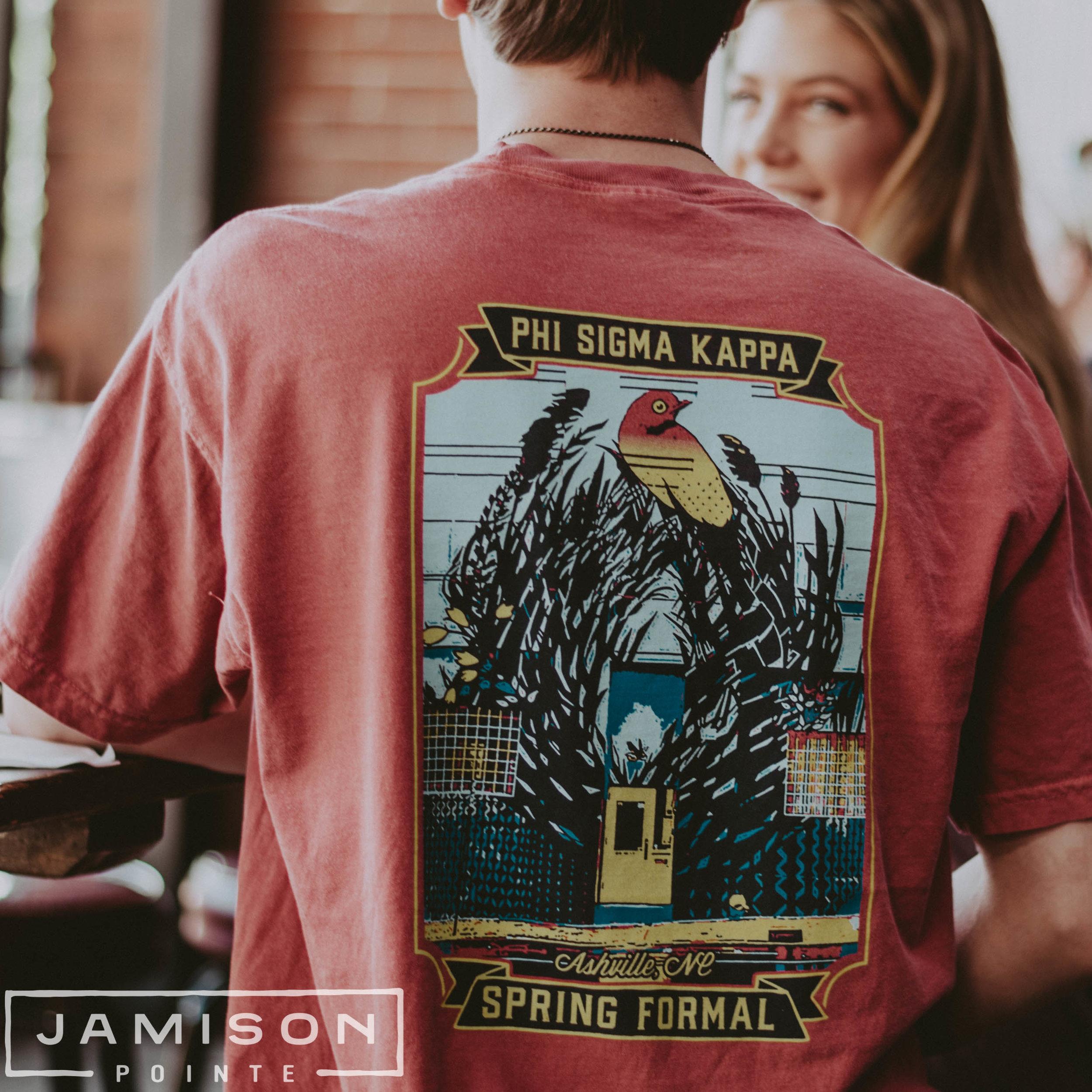 Phi Sigma Kappa Spring Formal Tshirt