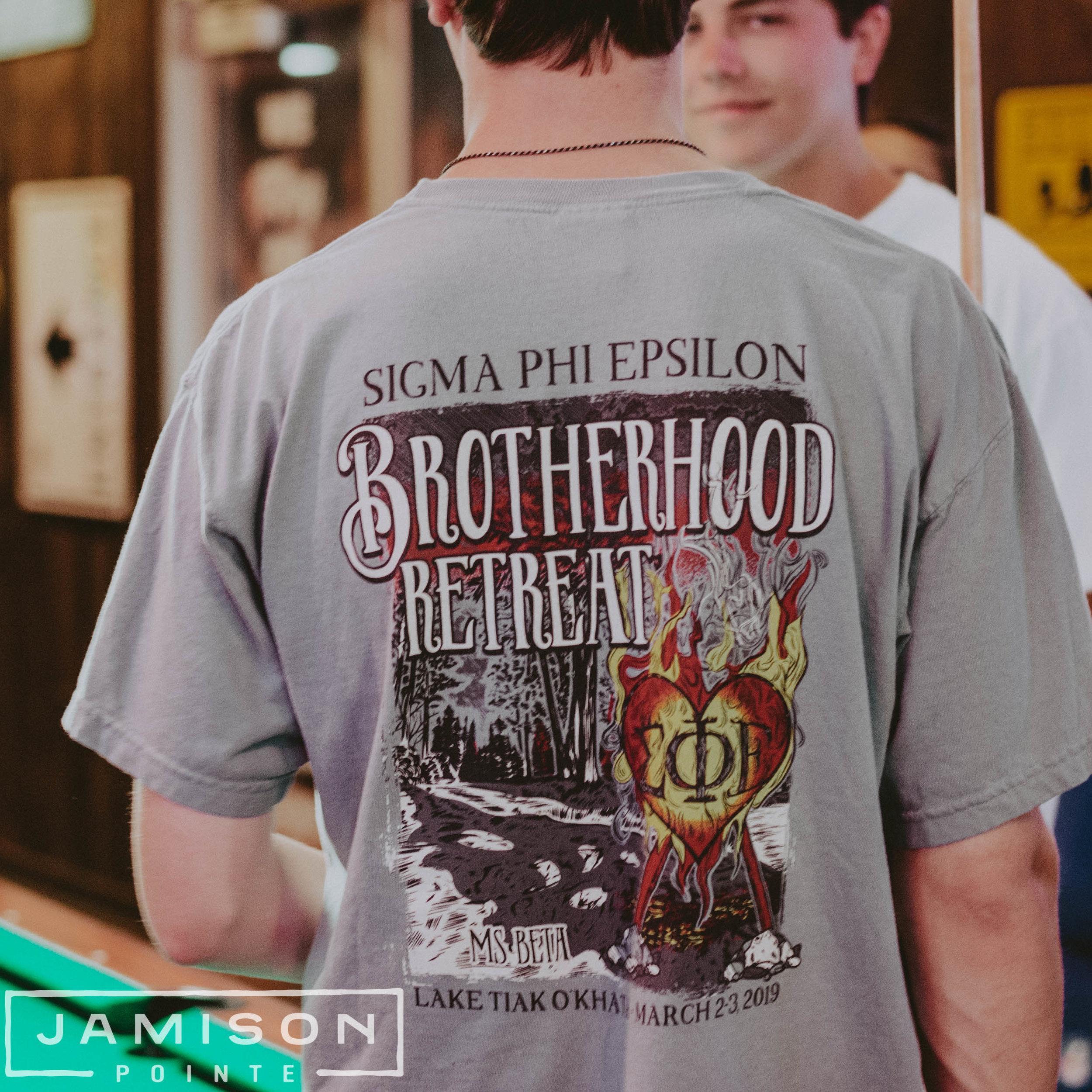 Sig Ep Brotherhood Retreat Tee