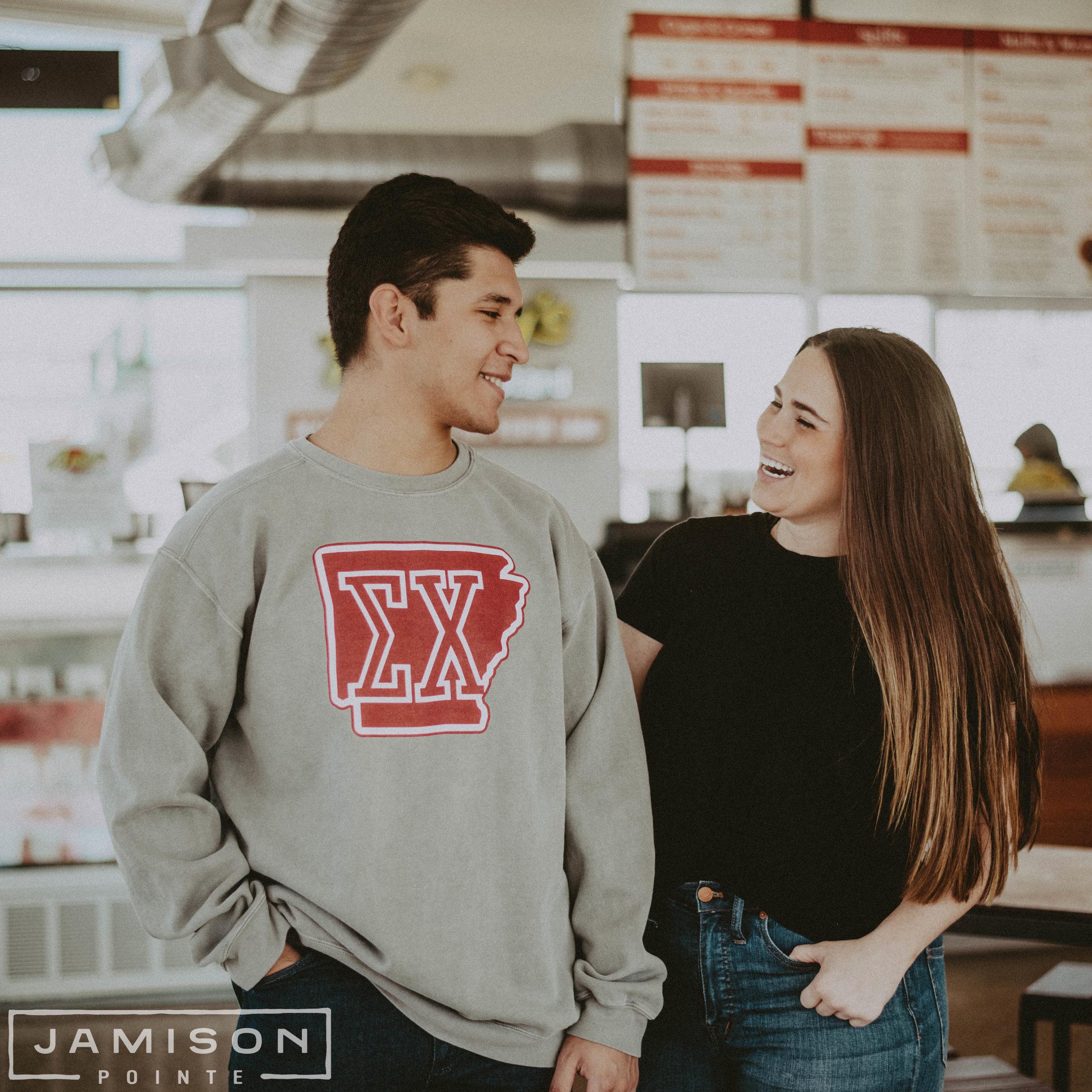 Sigma Chi Arkansas Sweatshirt