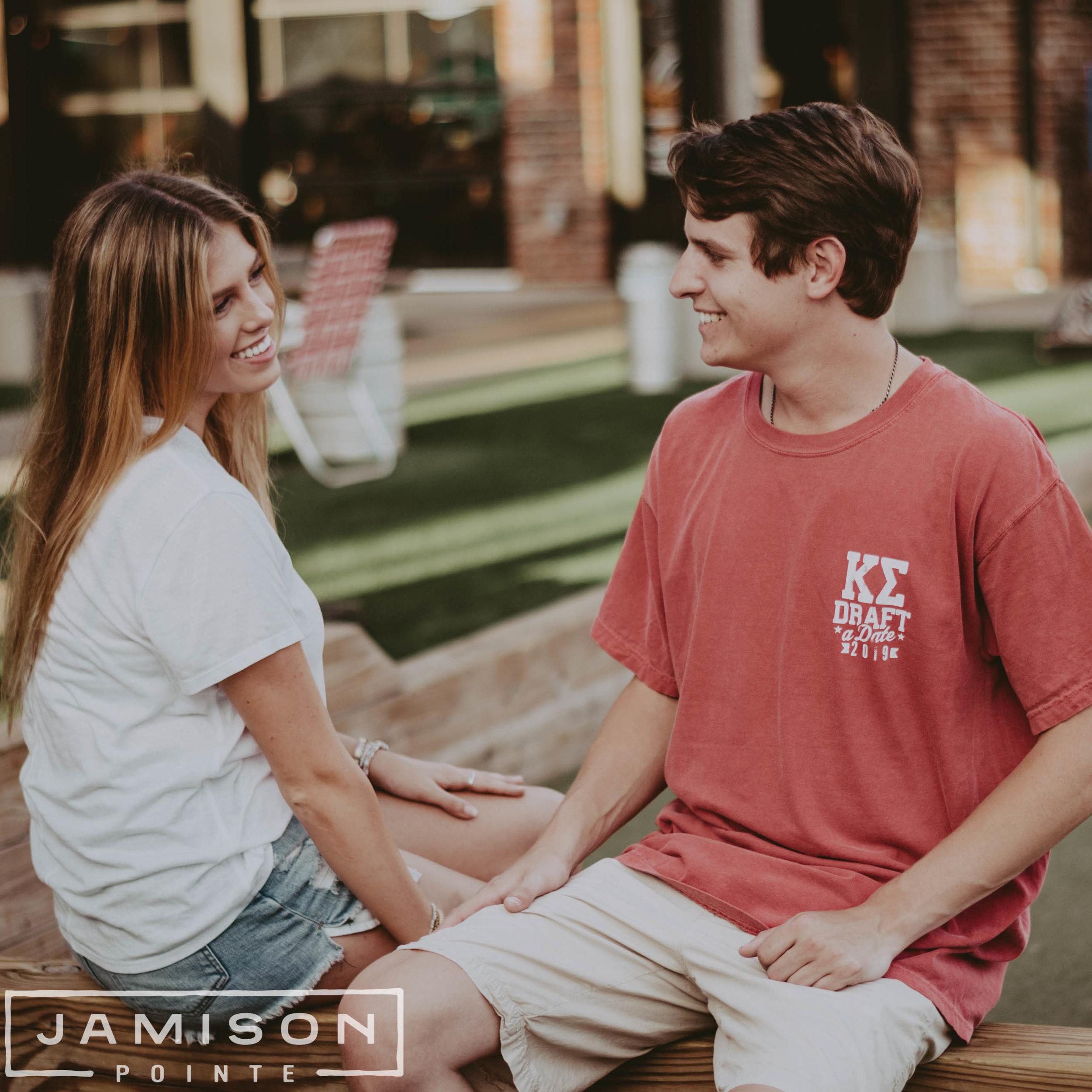 Kappa Sigma Draft a Date Tee