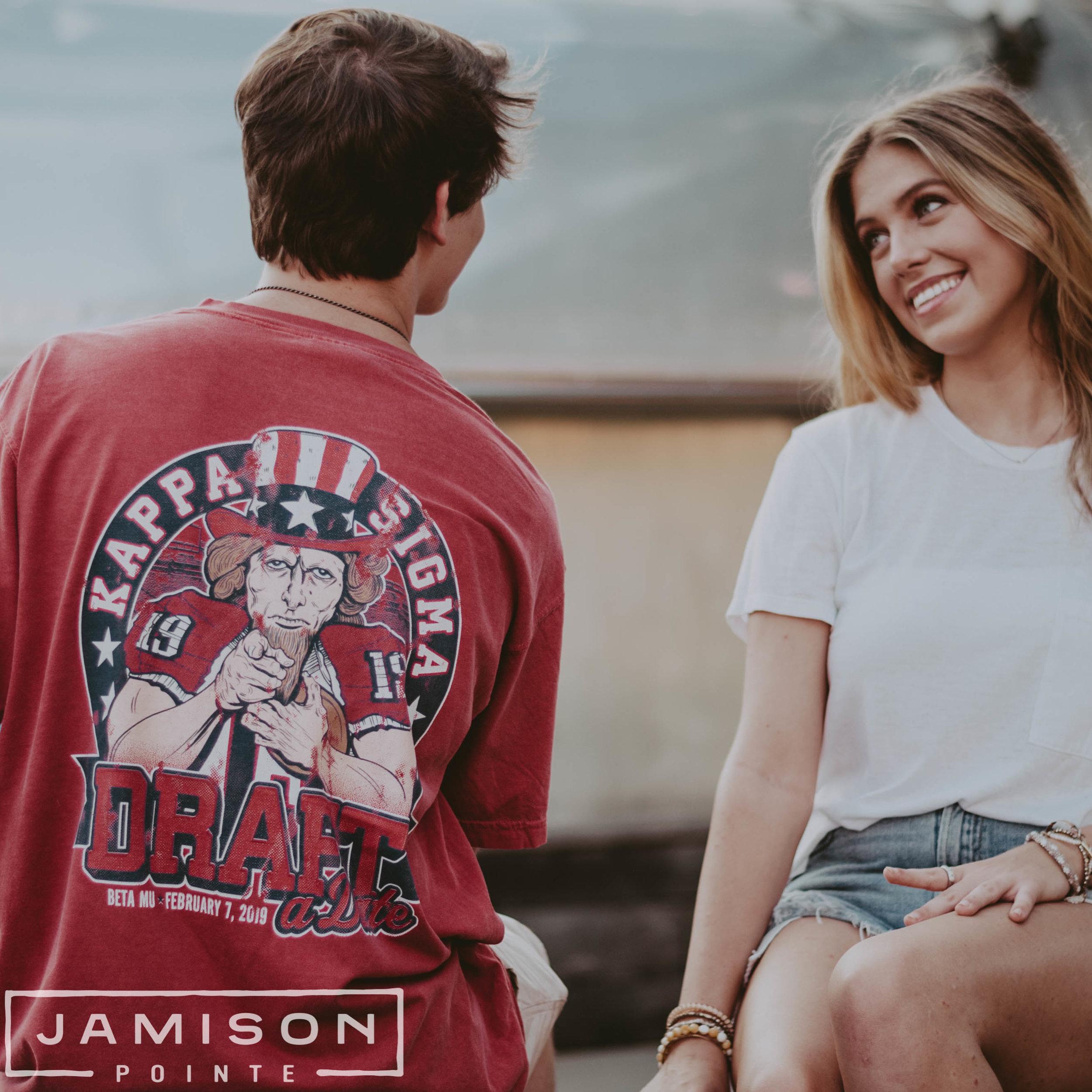Kappa Sig Draft a Date Tshirt