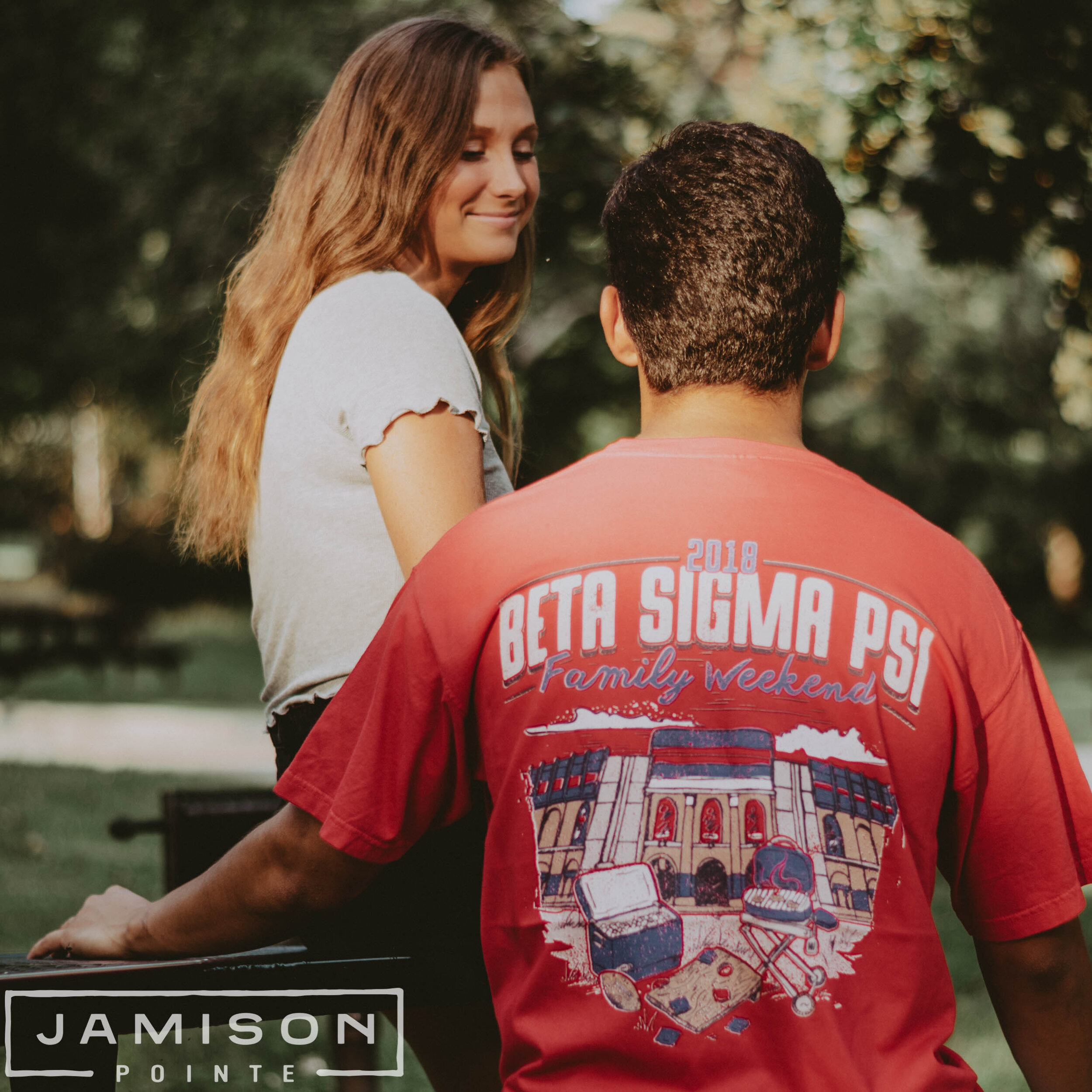 Beta Sigma Psi Parents Weekend Tee