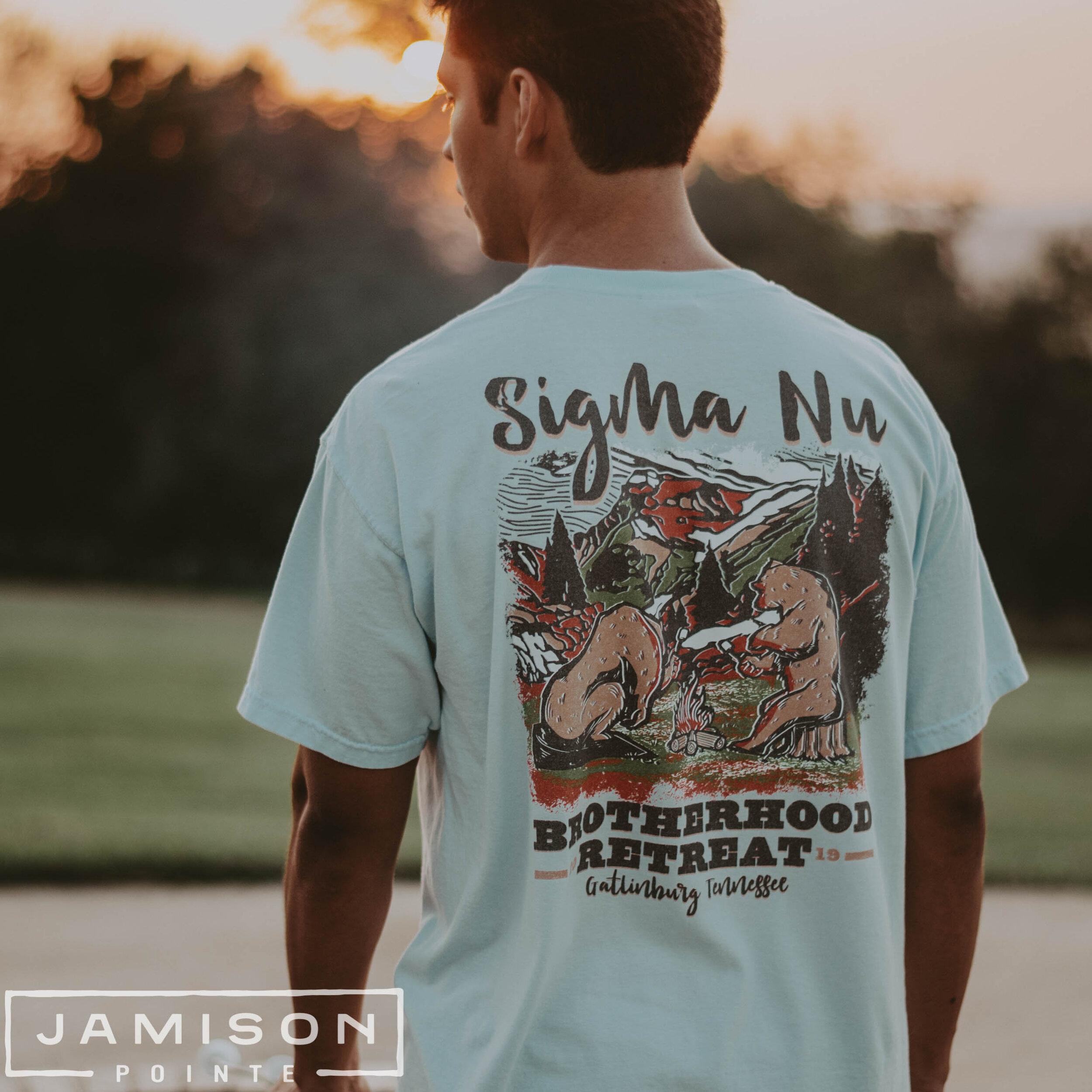 Sigma Nu Brotherhood Retreat Tshirt