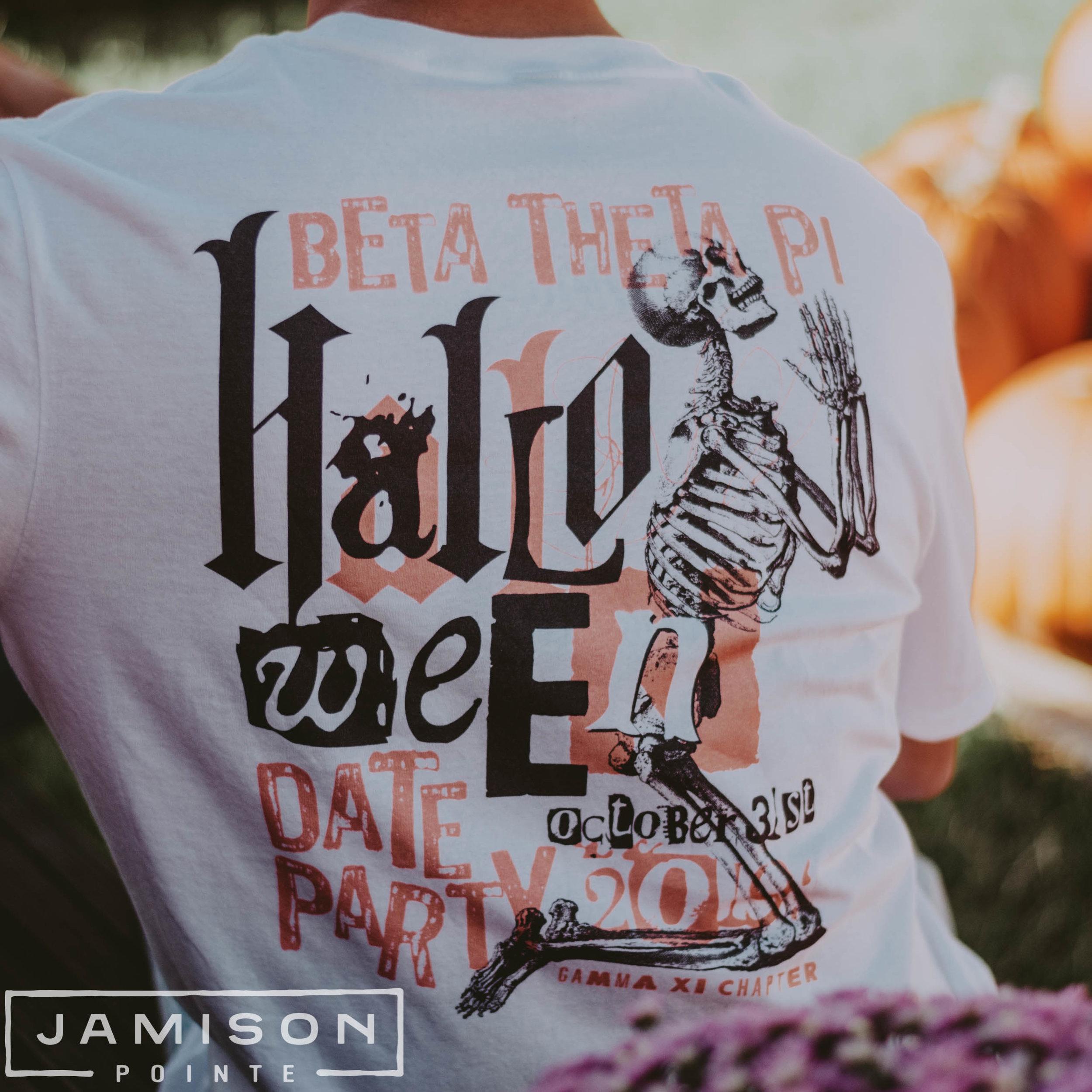Beta Theta Pi Halloween Party Tshirt