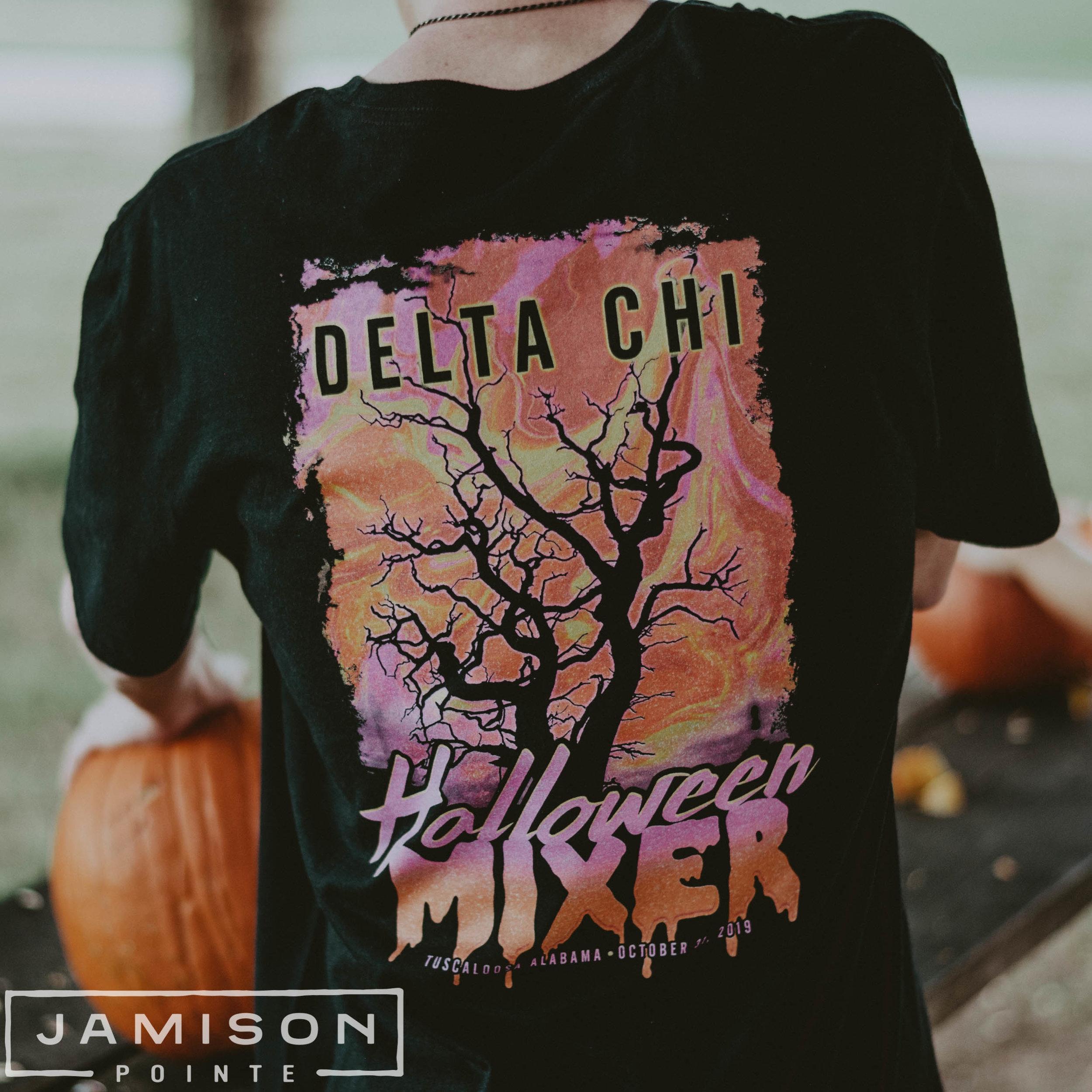 Delta Chi Halloween Mixer Tee