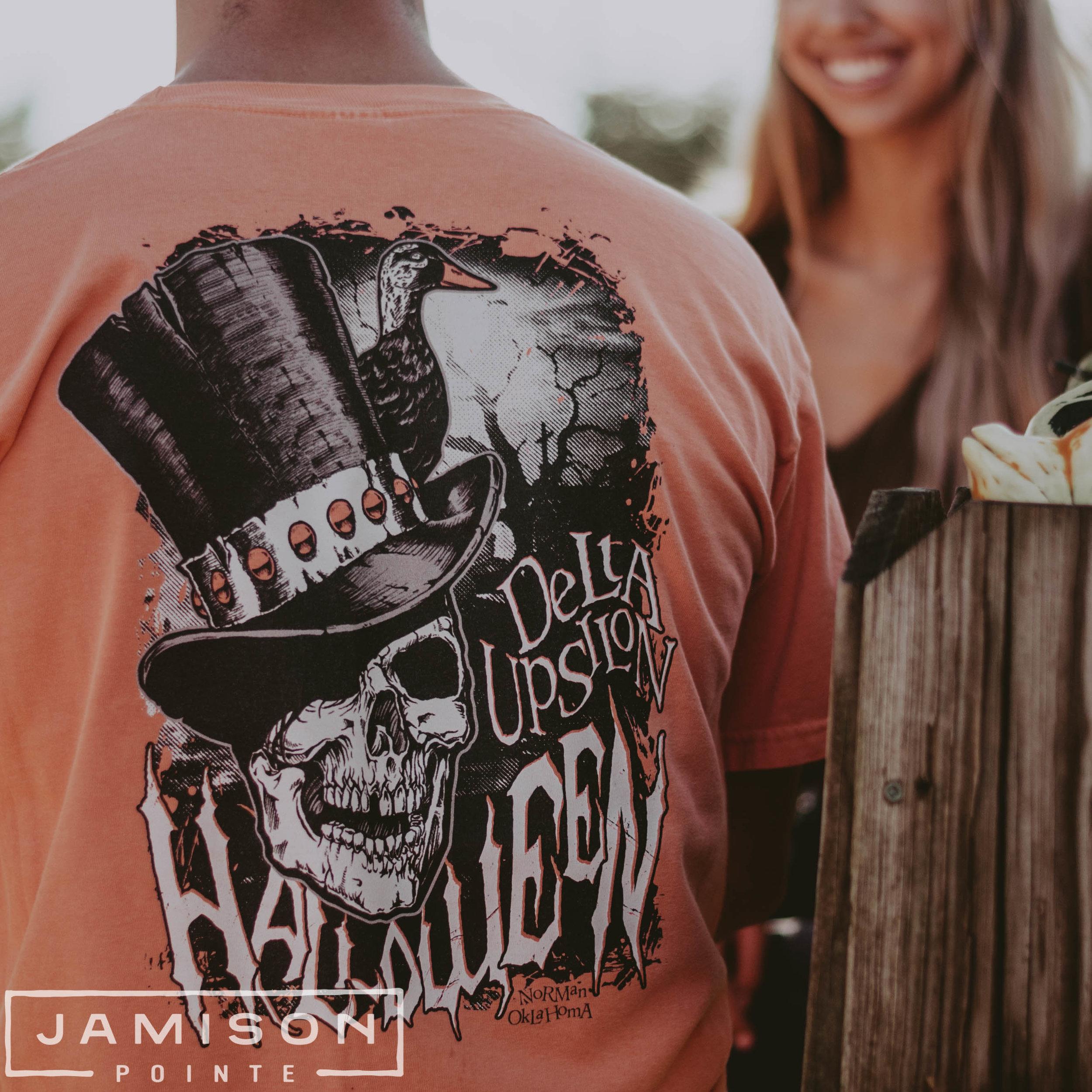 Delta Upsilon Halloween Tshirt