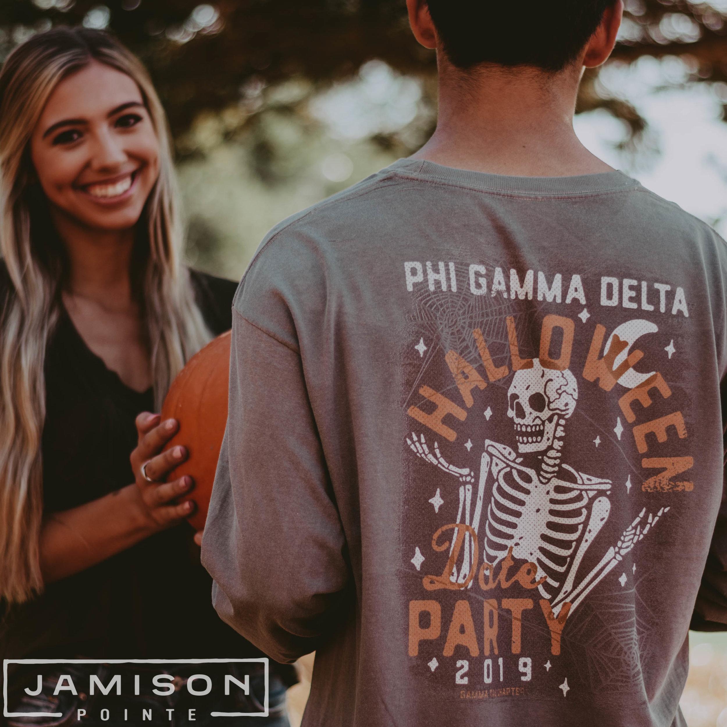 Phi Gam Halloween Party Tshirt