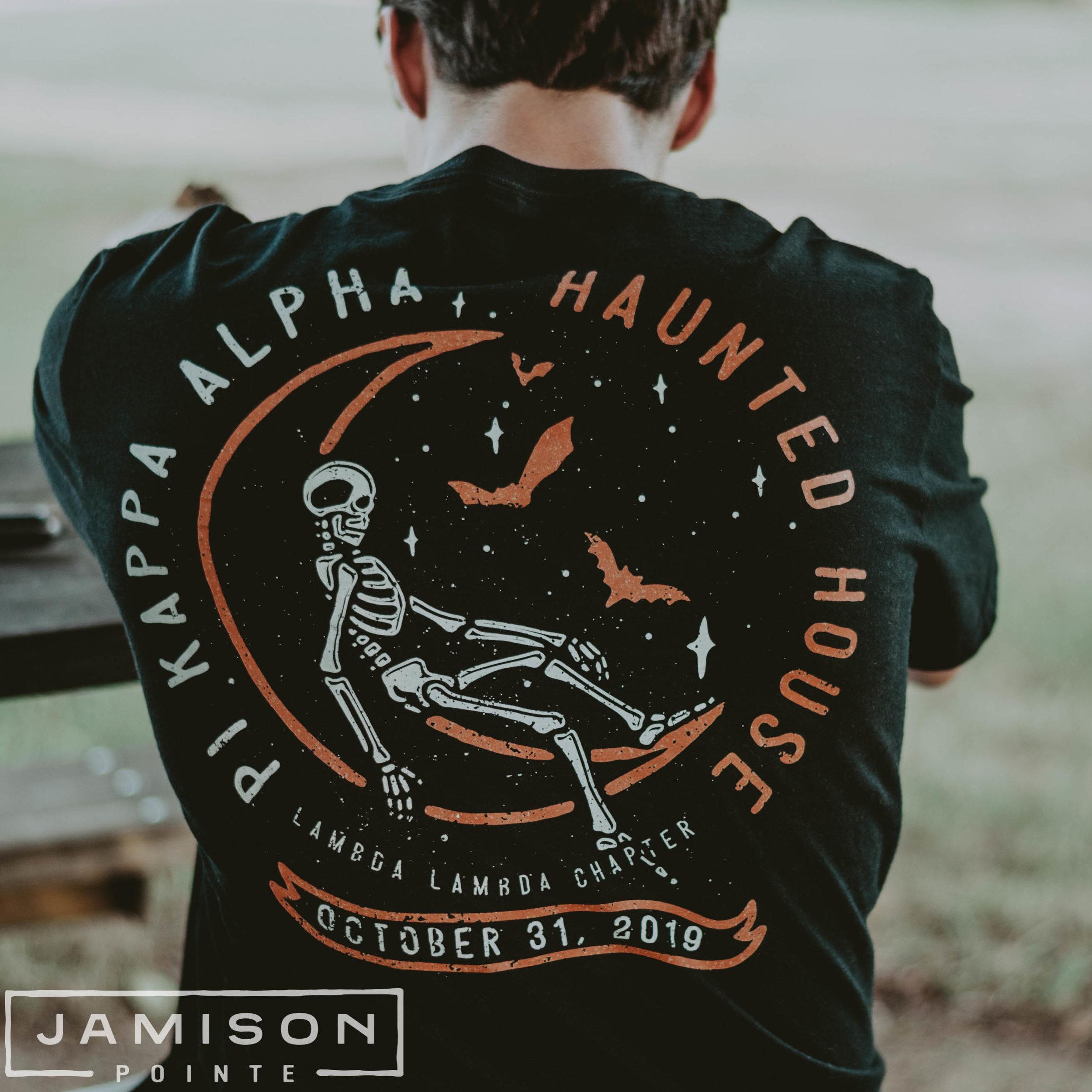 Pi Kappa Alpha Halloween Tshirt