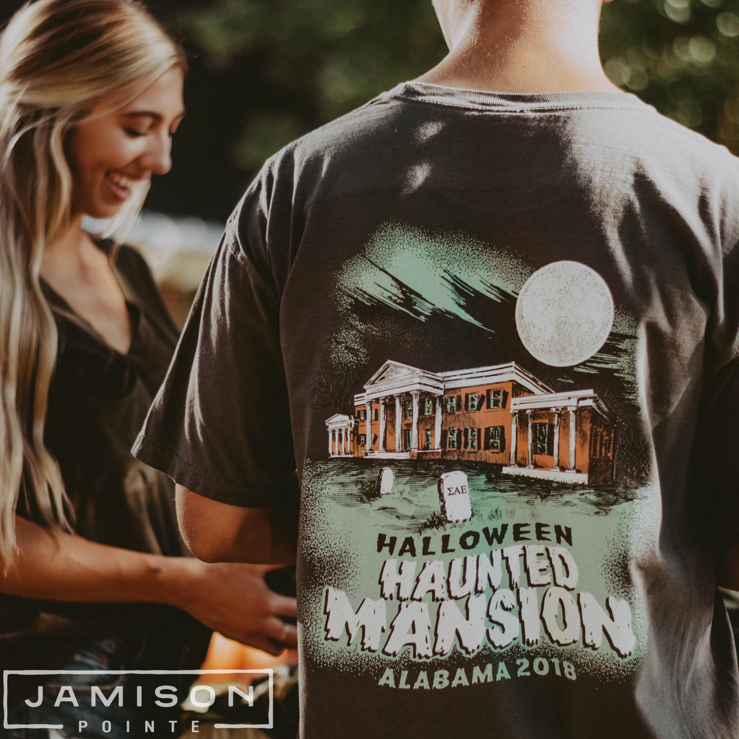 SAE Haunted Mansion Tee