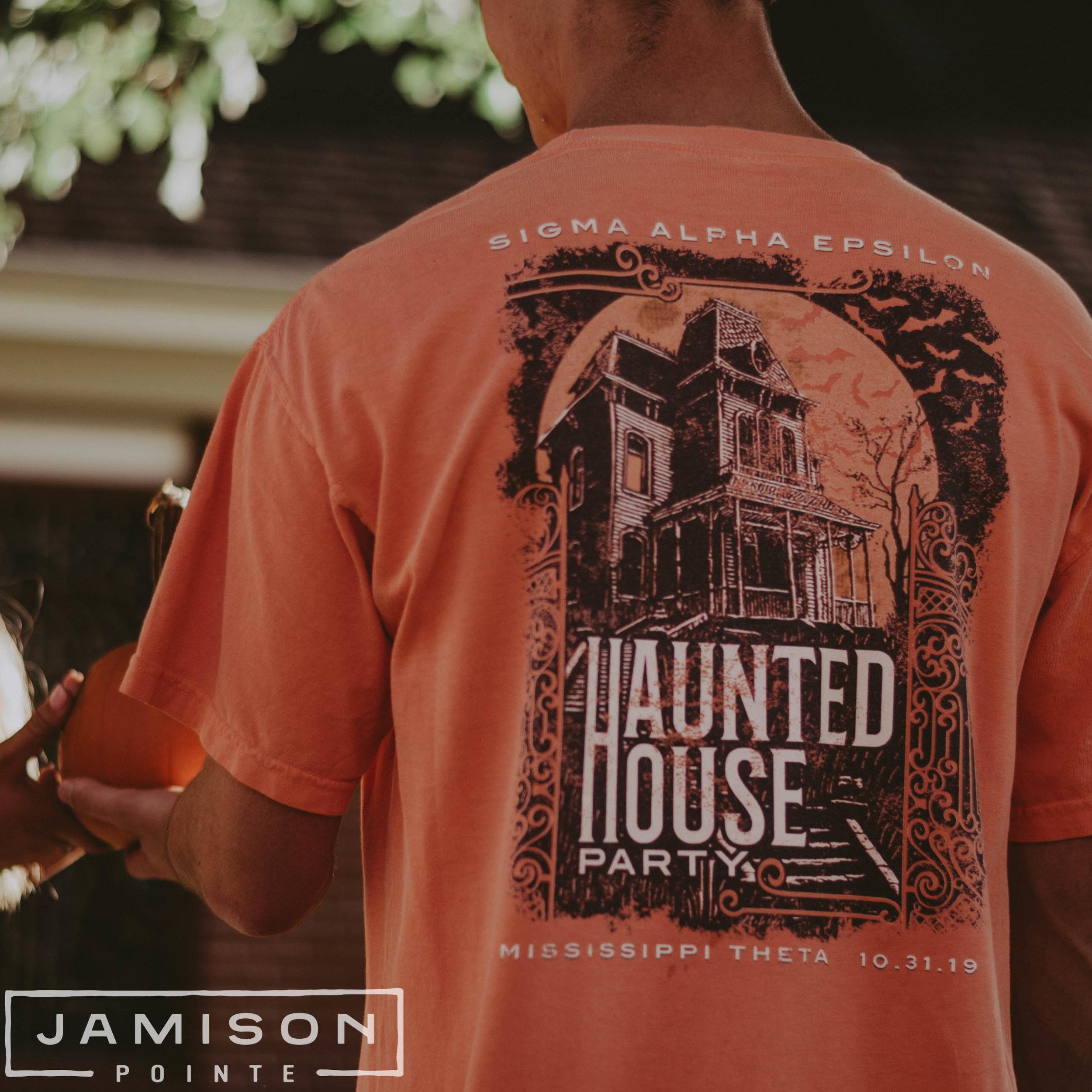 SAE Haunted House Tee