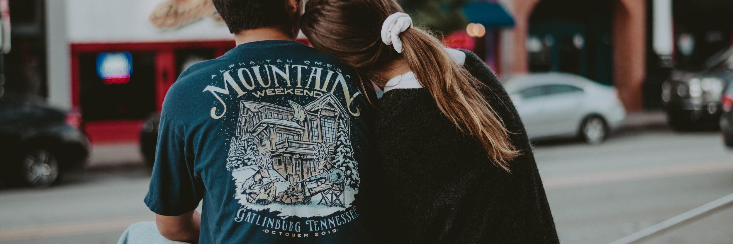 Mountain Weekend Tshirt Designs -