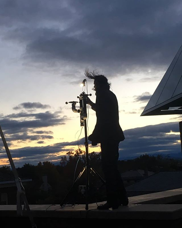 Here are some highlights from last night's, Sunset Performance: Weather Warlock.  #FeverishWorld