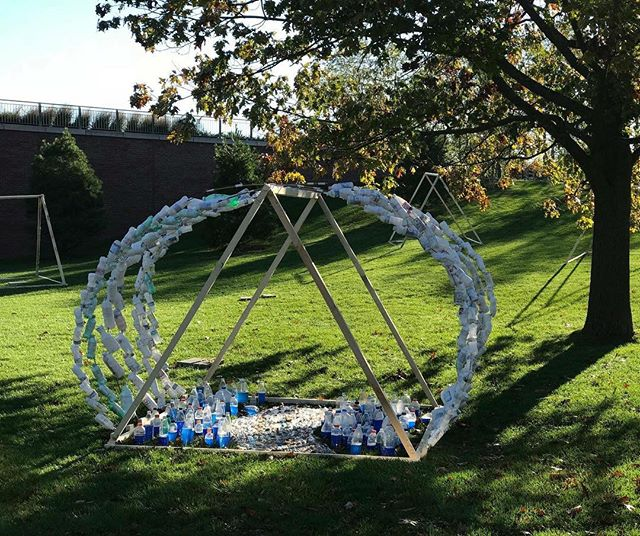 Experience the stunning #Tentworks decorating the greens of UVM today as part of #FeverishWorld