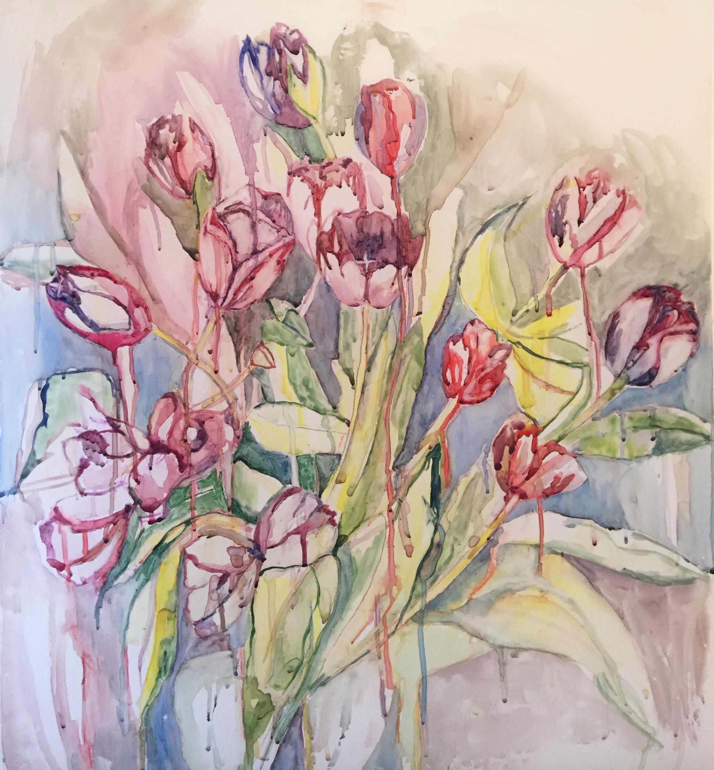 Flowers Running