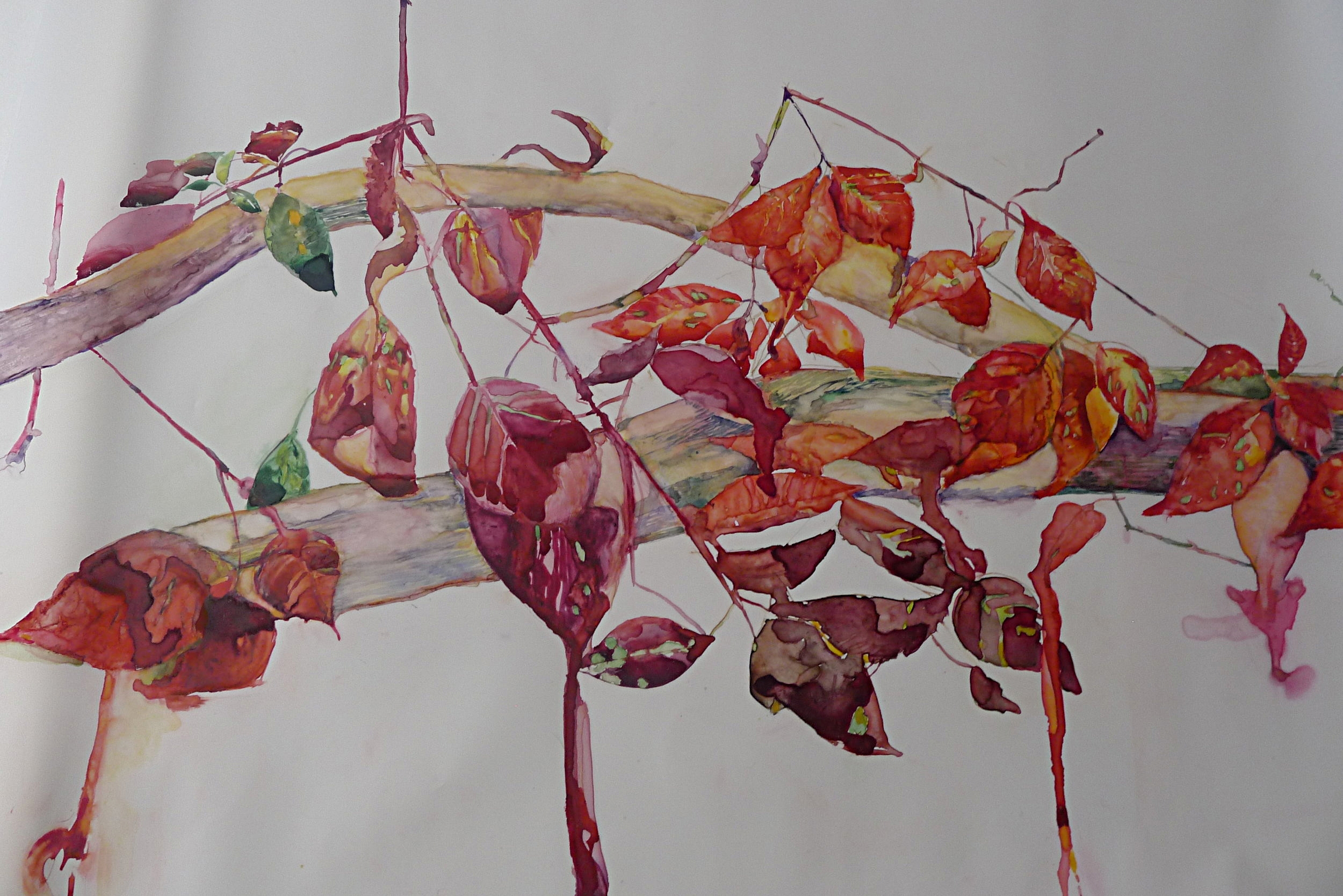 Red Leaves, SOLD