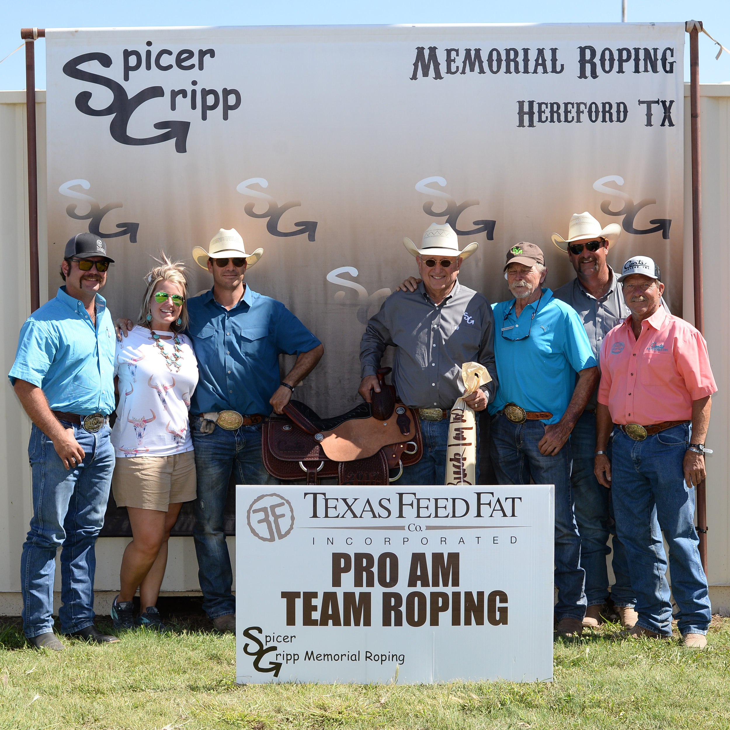 2017 SG Pro Am Team Roping - Amateur Header - Award 1 - Johnny Trotter & Kollin VonAhn.jpg