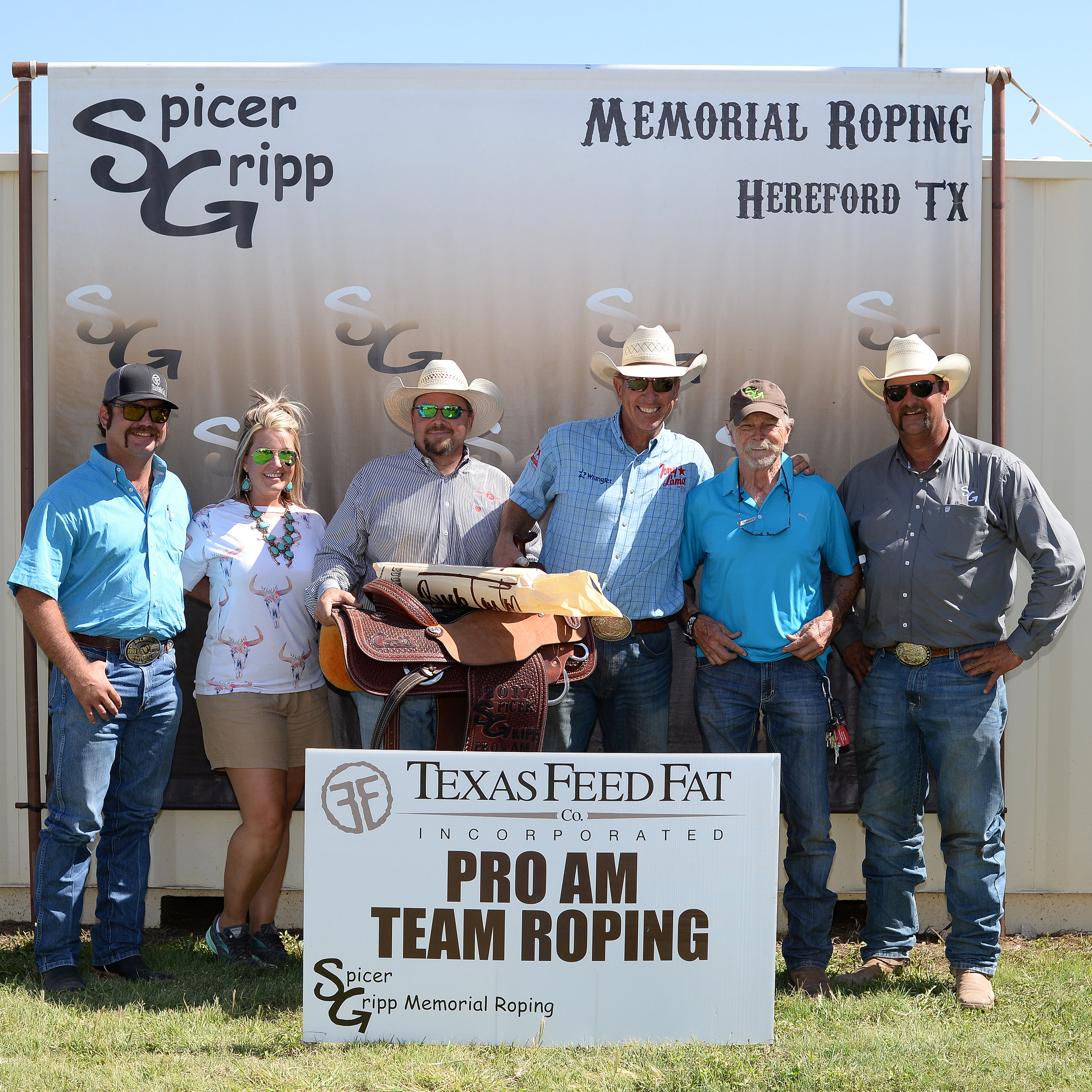 2017 SG Pro Am Team Roping - Amateur Heeler - Award 1 - Jake Barnes & Ken Plocek.jpg
