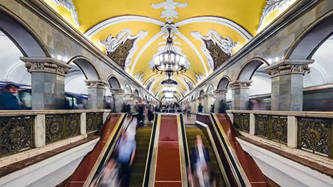 One of the Most Beautiful Metros in the World