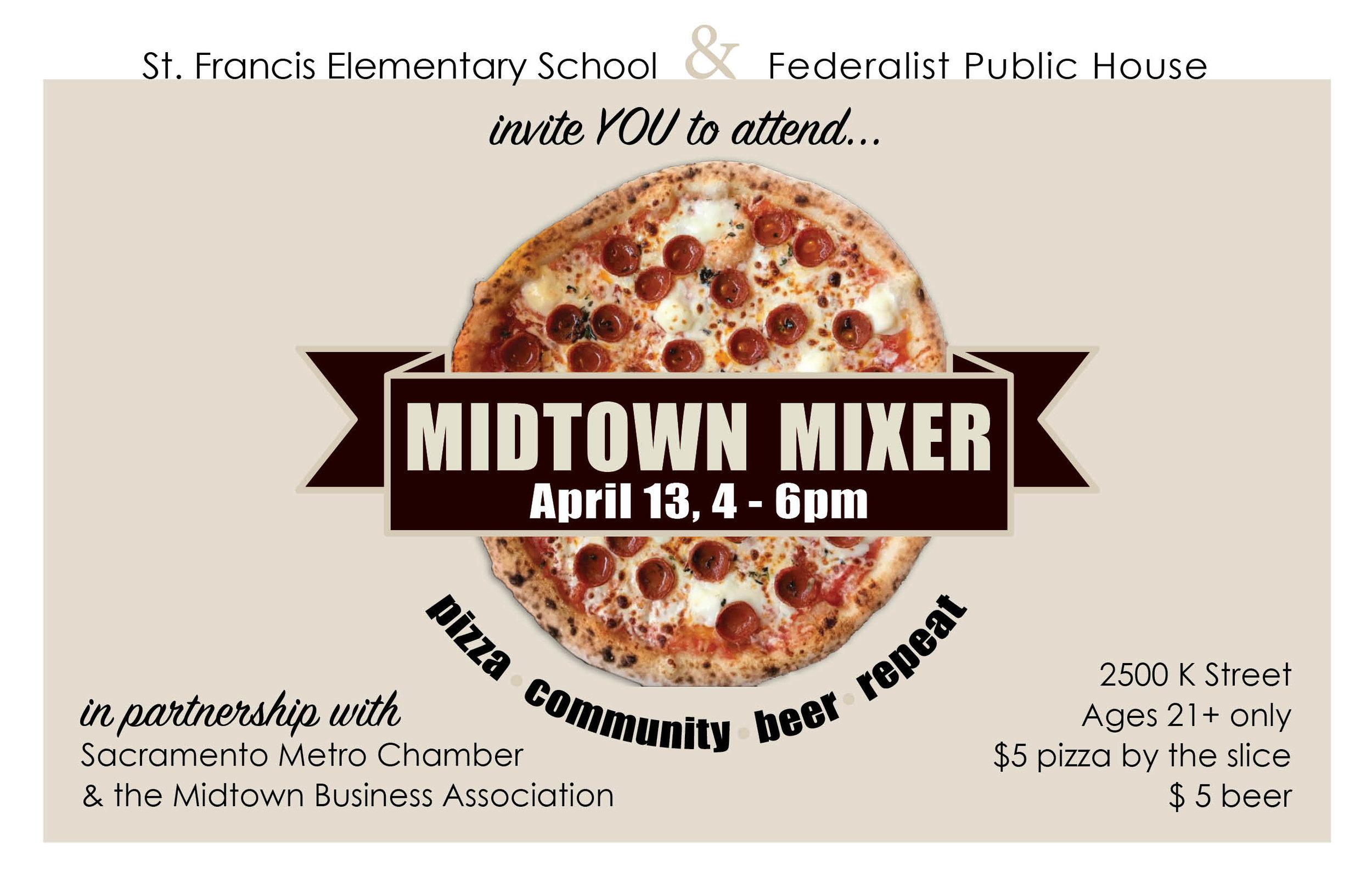 Community Mixer Marketing - Web & Print