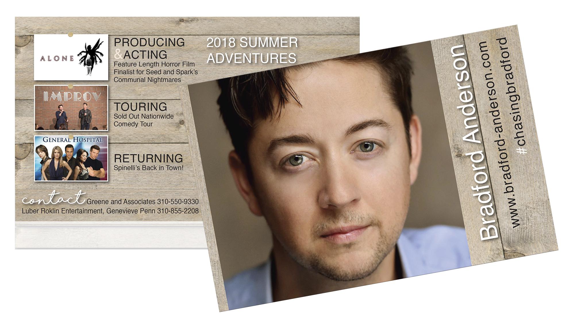 Actor Mailer - Oversized Postcard