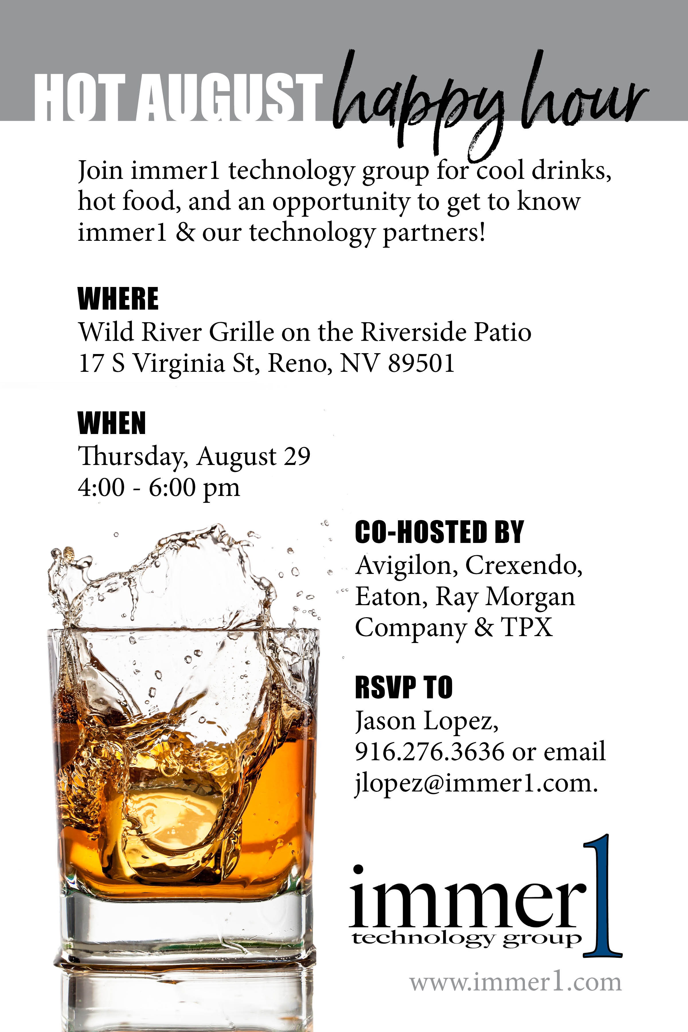 Business Mixer - Print & Email Invitation
